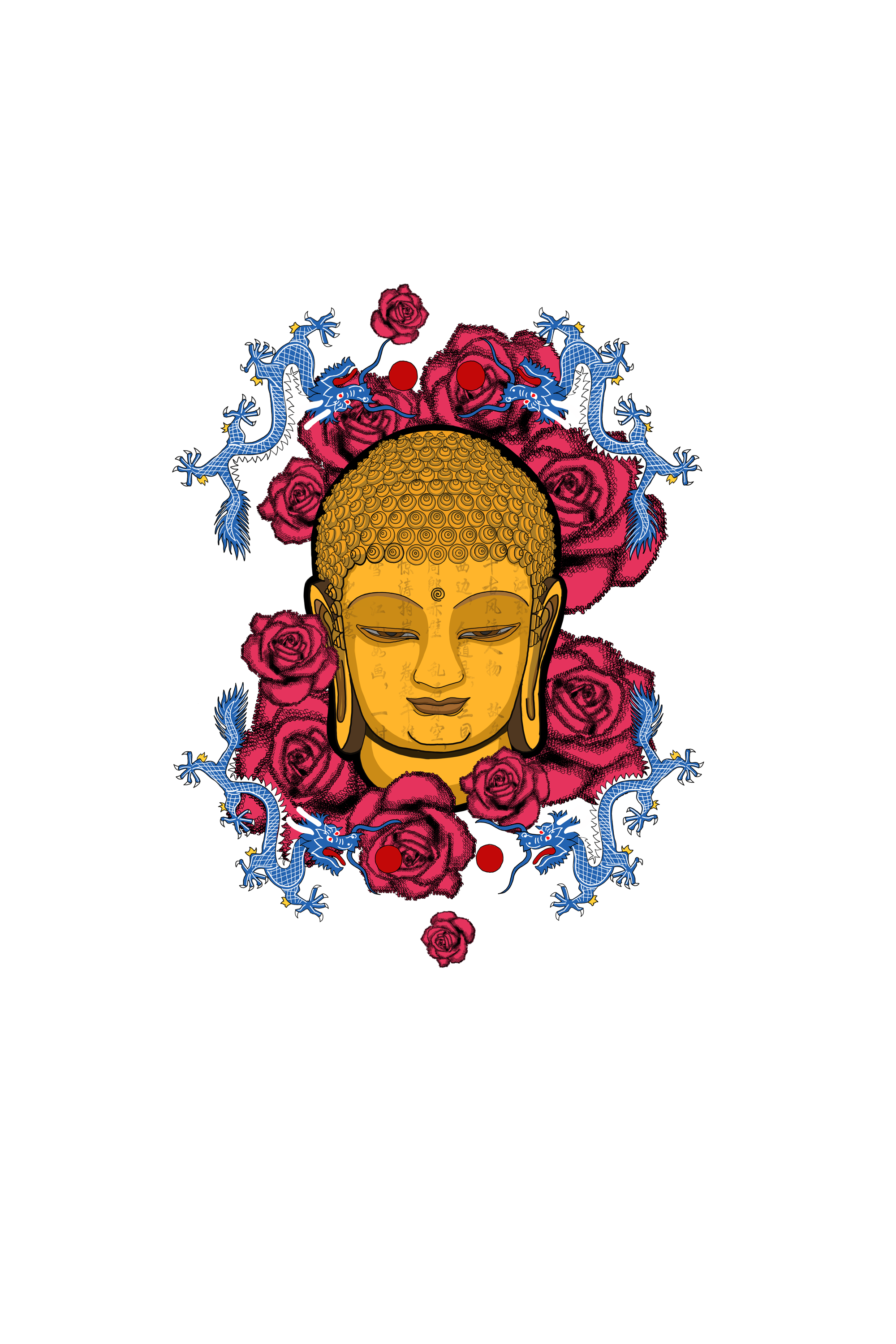 JING BUDDHA FROM THE ROSE HEAVEN