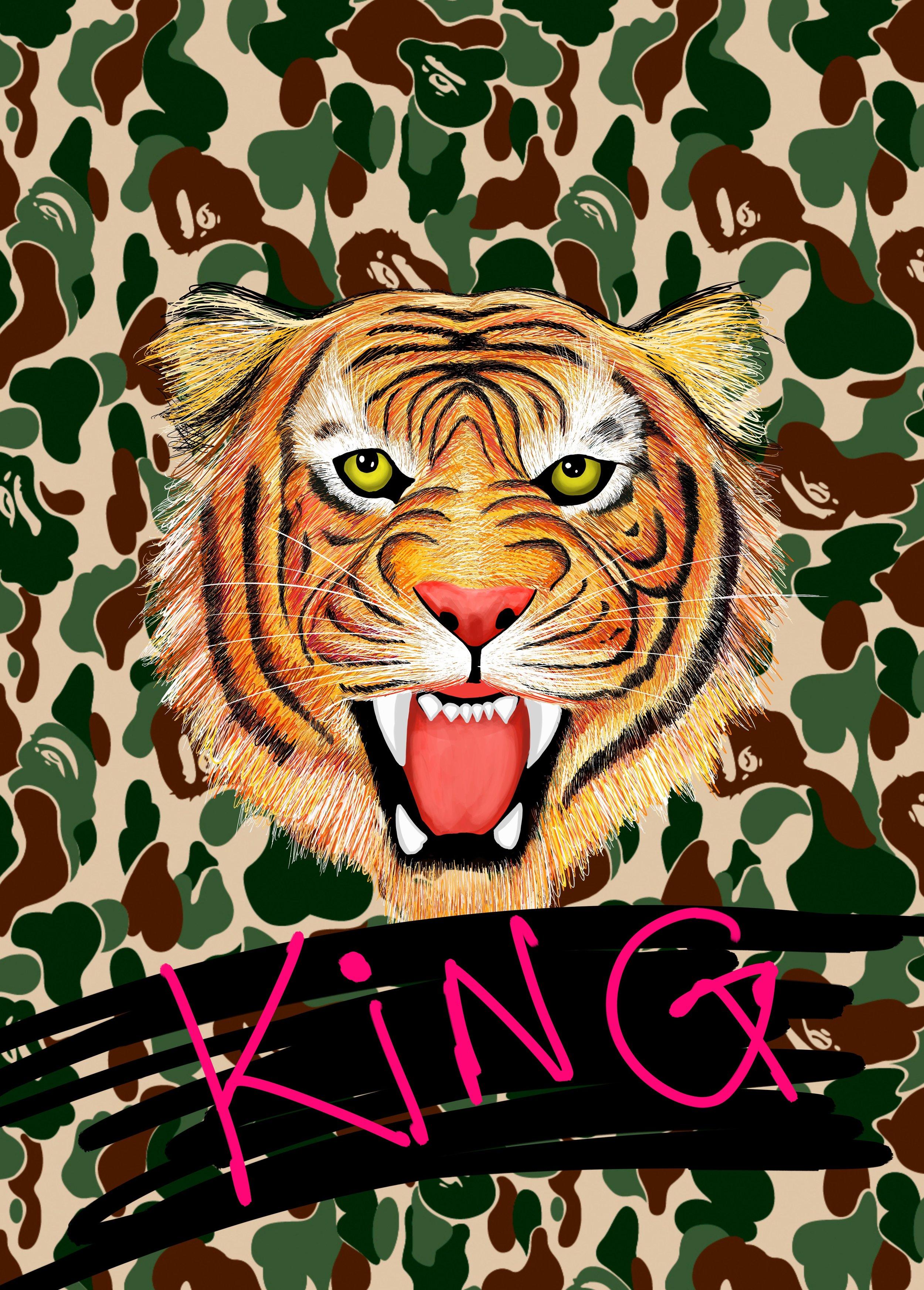JING TIGER SUPREME (BAPE KING)