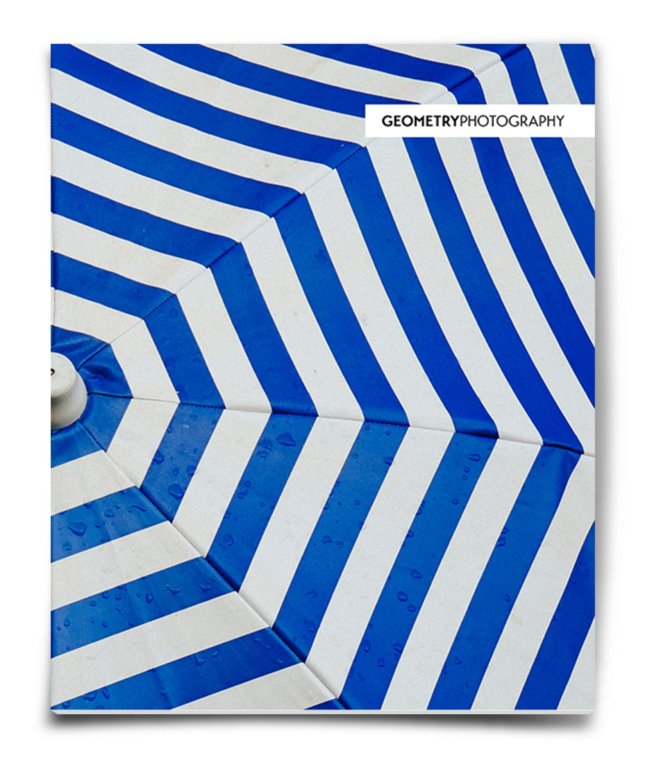 32 page gift shop magazine displaying how geometry appears in photography