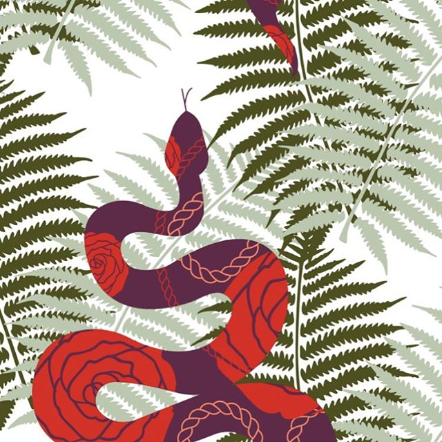 """Le Jardin"" - a dedication to @selinafletcher 's genius imagination. Work in progress for @papergreats"