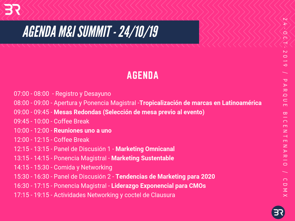 Agenda Business Republic Marketing & Innovation Summit
