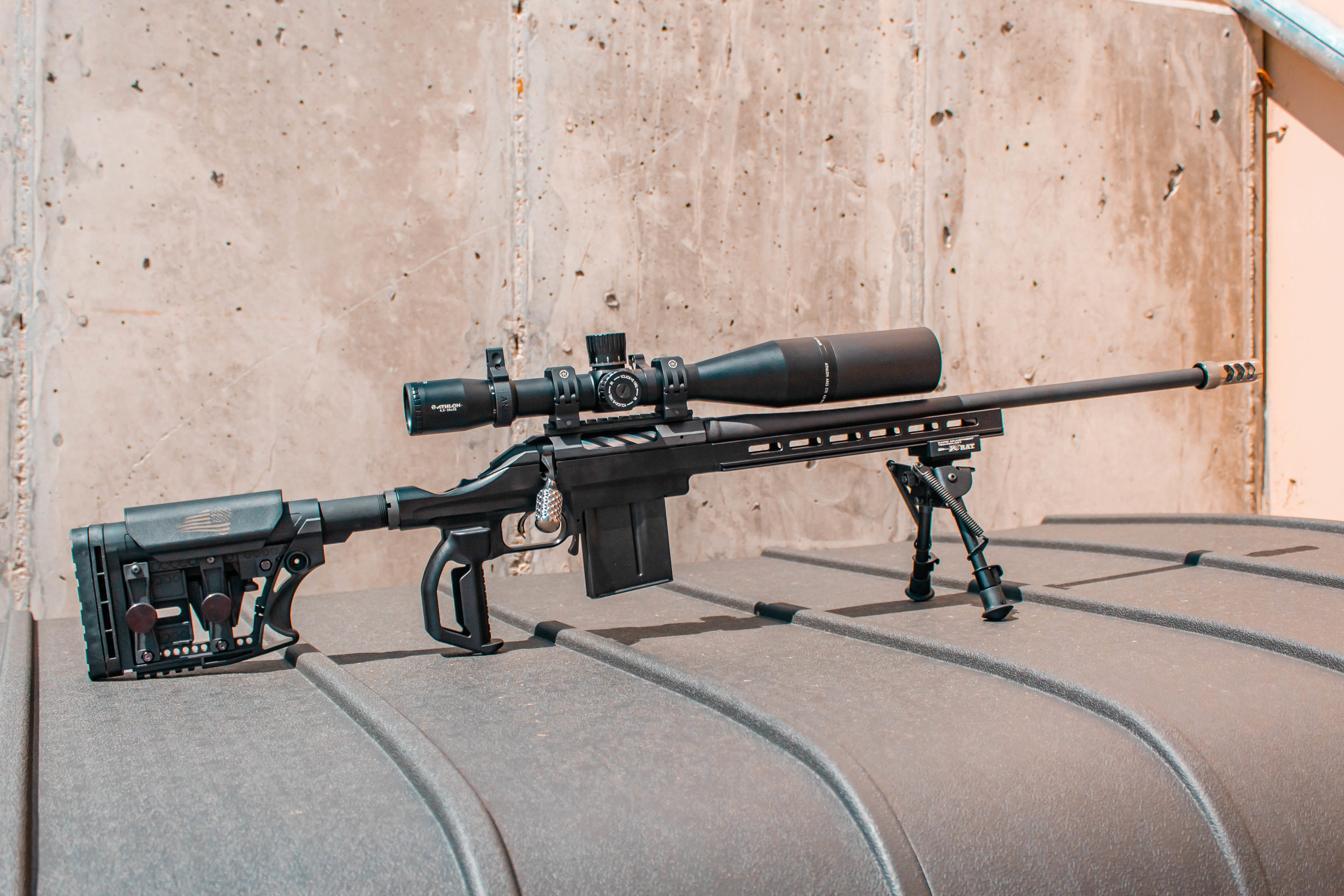 RA/SA MoFo Chassis with choice of fore-end, For Ruger American® short  action centerfire rifles  — Indian Creek Design, Inc