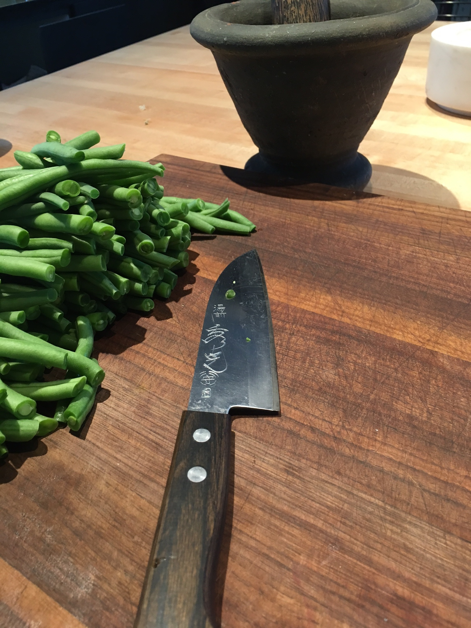 My favorite very hard working knife.
