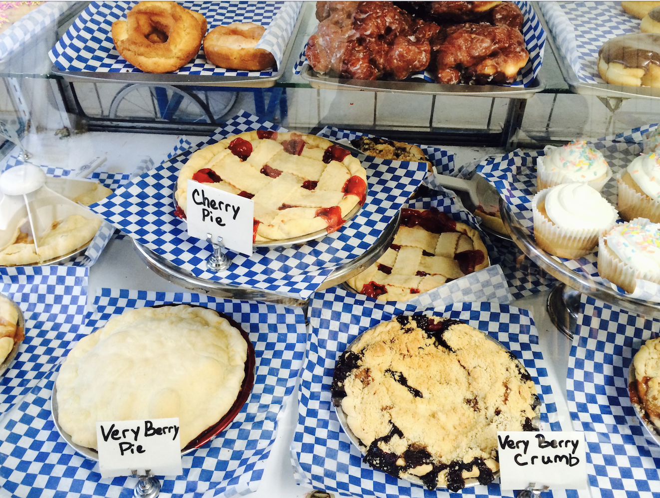 Pies from a bakery in Seattle.They know crust!