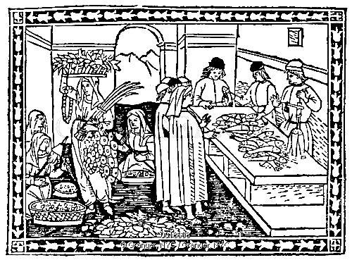 16th century Spanish market.