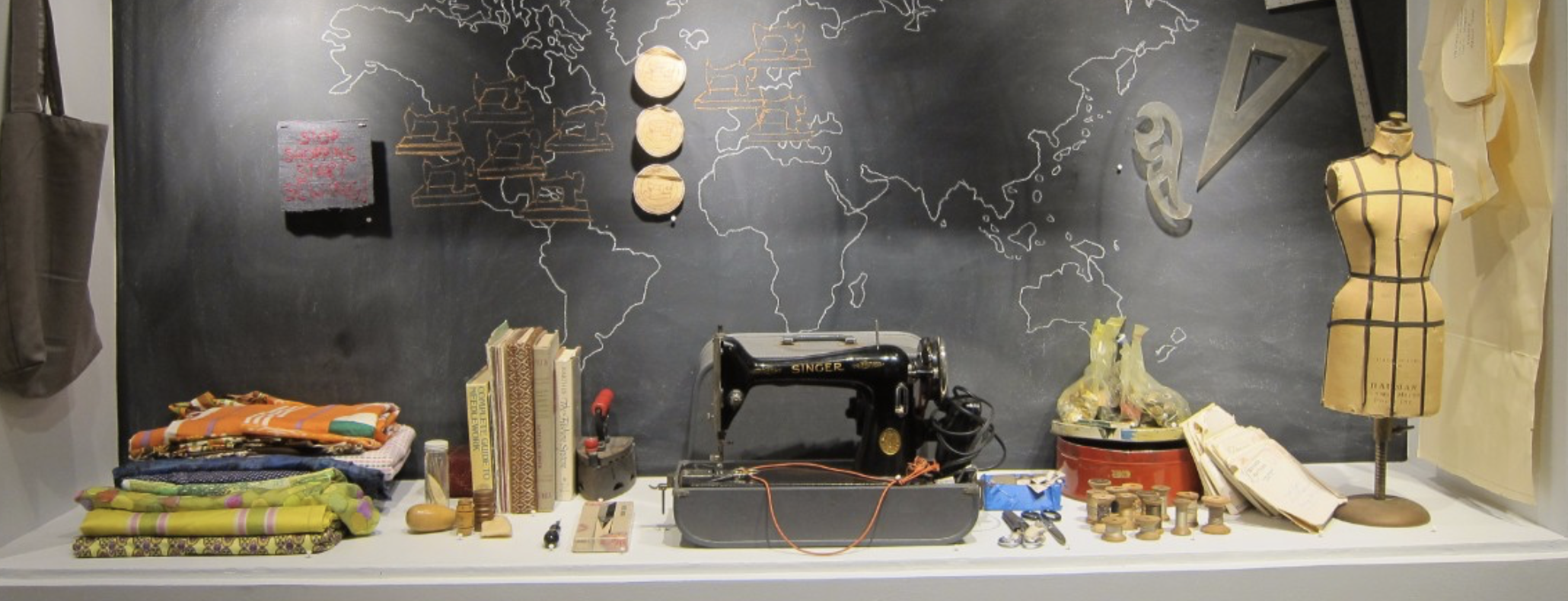 Frau Fiber's activity archive. Craft and Folk Art Museum , 2013 | Carole Frances Lung