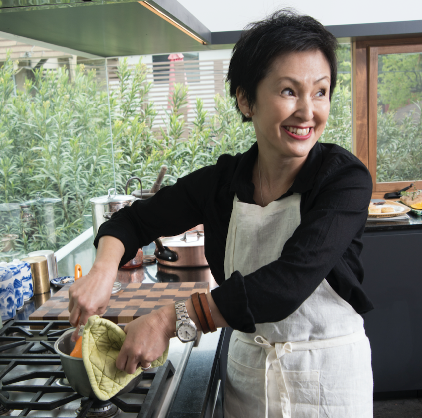 Masako Yatabe Thomsen -  Urban Forager Featured Chef & Baker.  Photo by Ann Cutting.