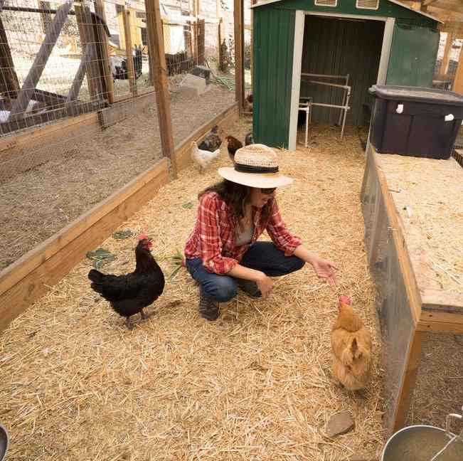Amelia McDonald -  Farmer & Purveyor at McDonald Urban Farm . Photo by Sally Kreuger Wyman.