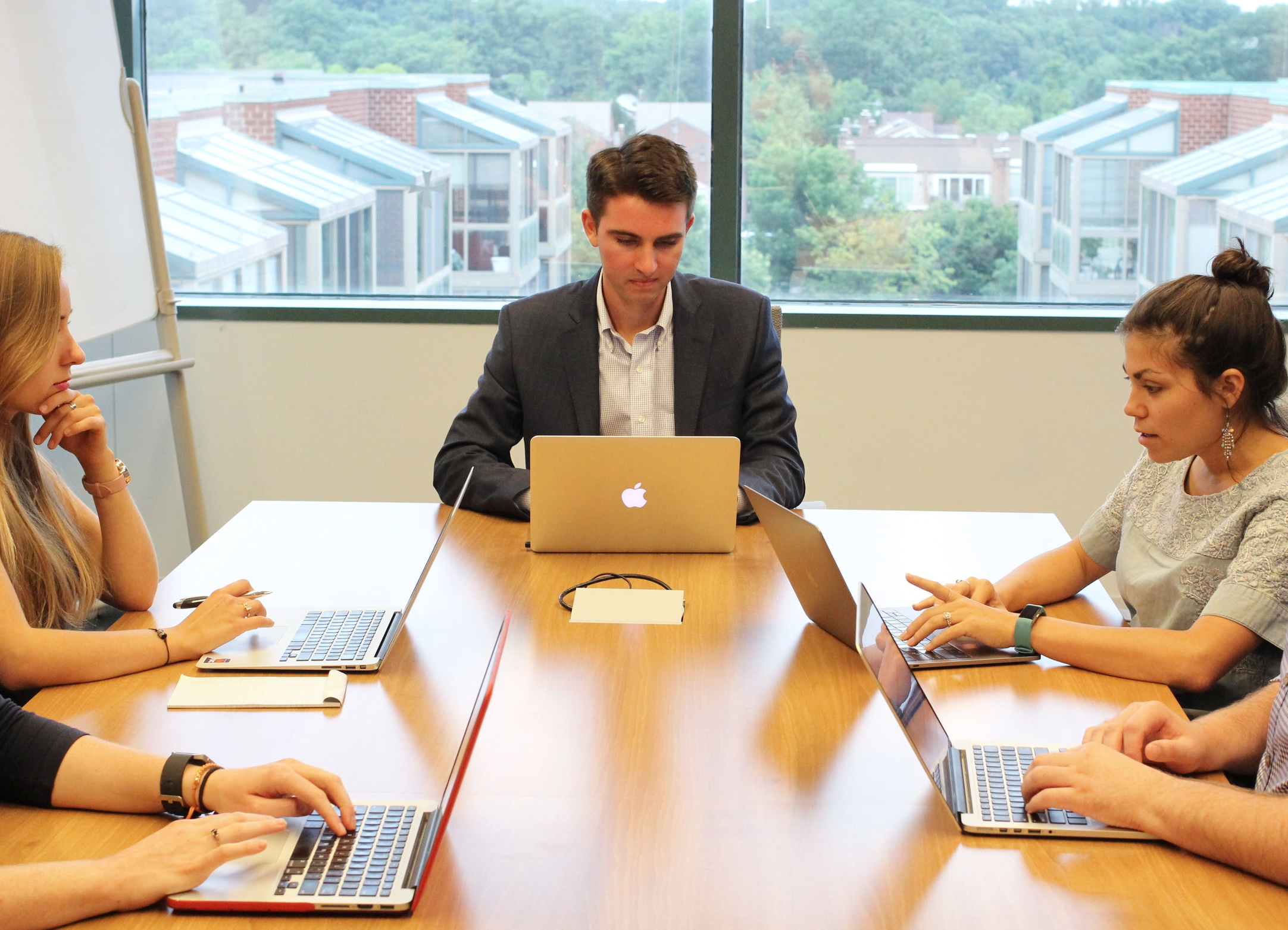 Internships at SV consist of real responsibility & autonomy to turn new ideas for companies & non-profits into reality. Here is Summer 2018 intern Nick Leaver and members of the SV team.