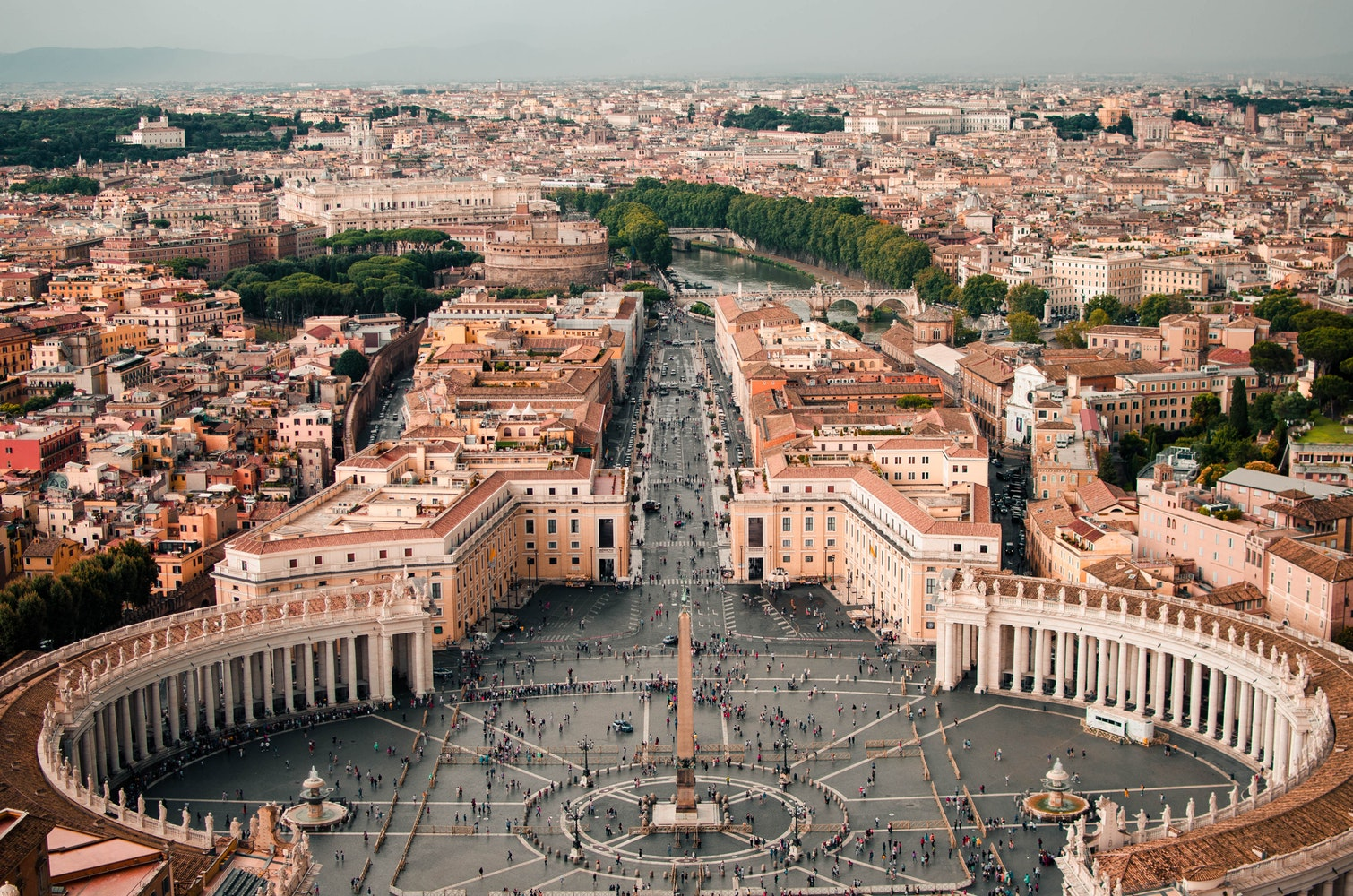 Travel in Rome, Italy