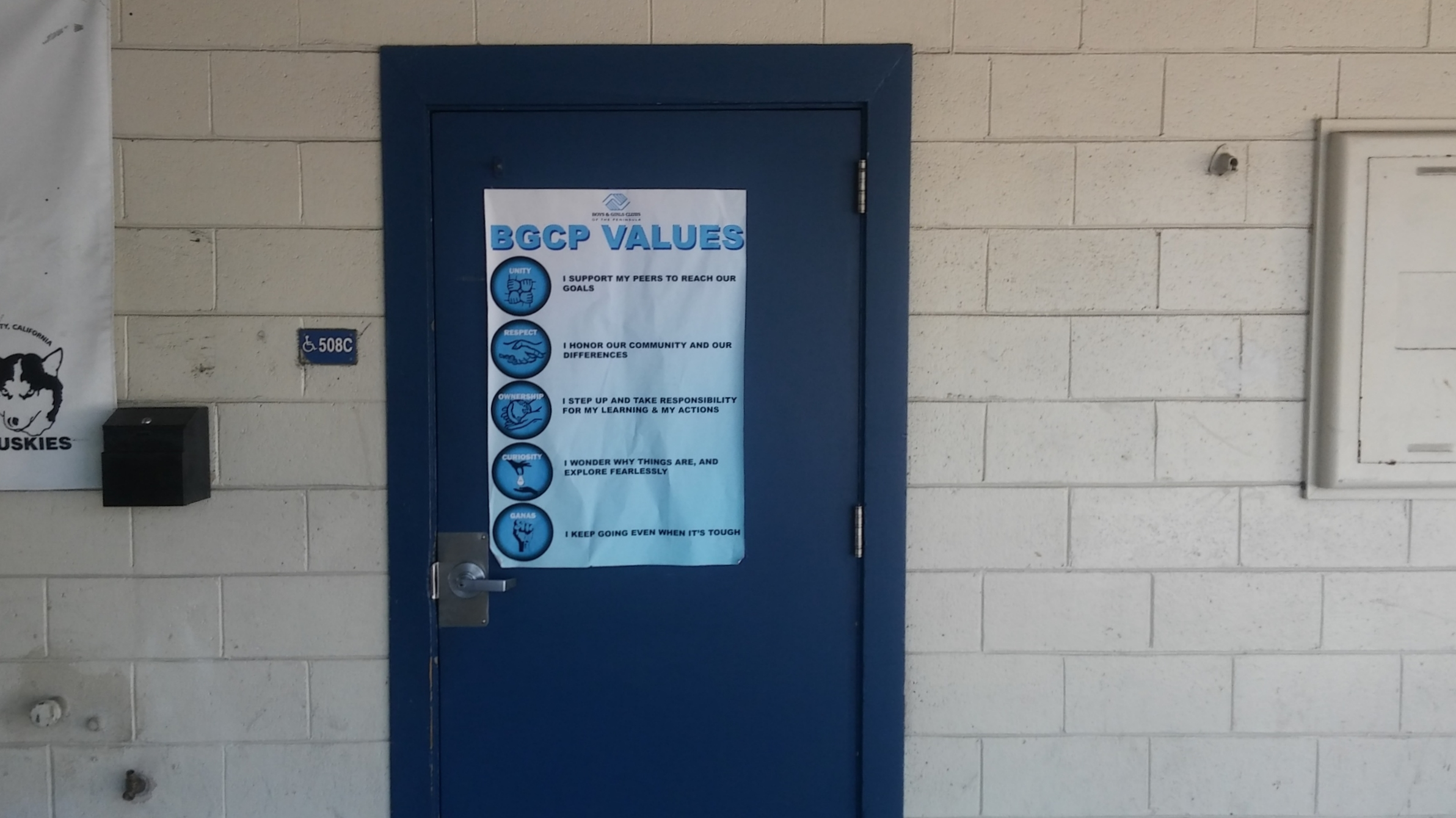 BGCP at Hoover Community School: Picture of Main Office