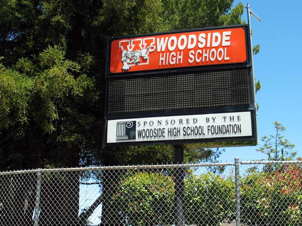 Woodside_High_School_billboard.jpg
