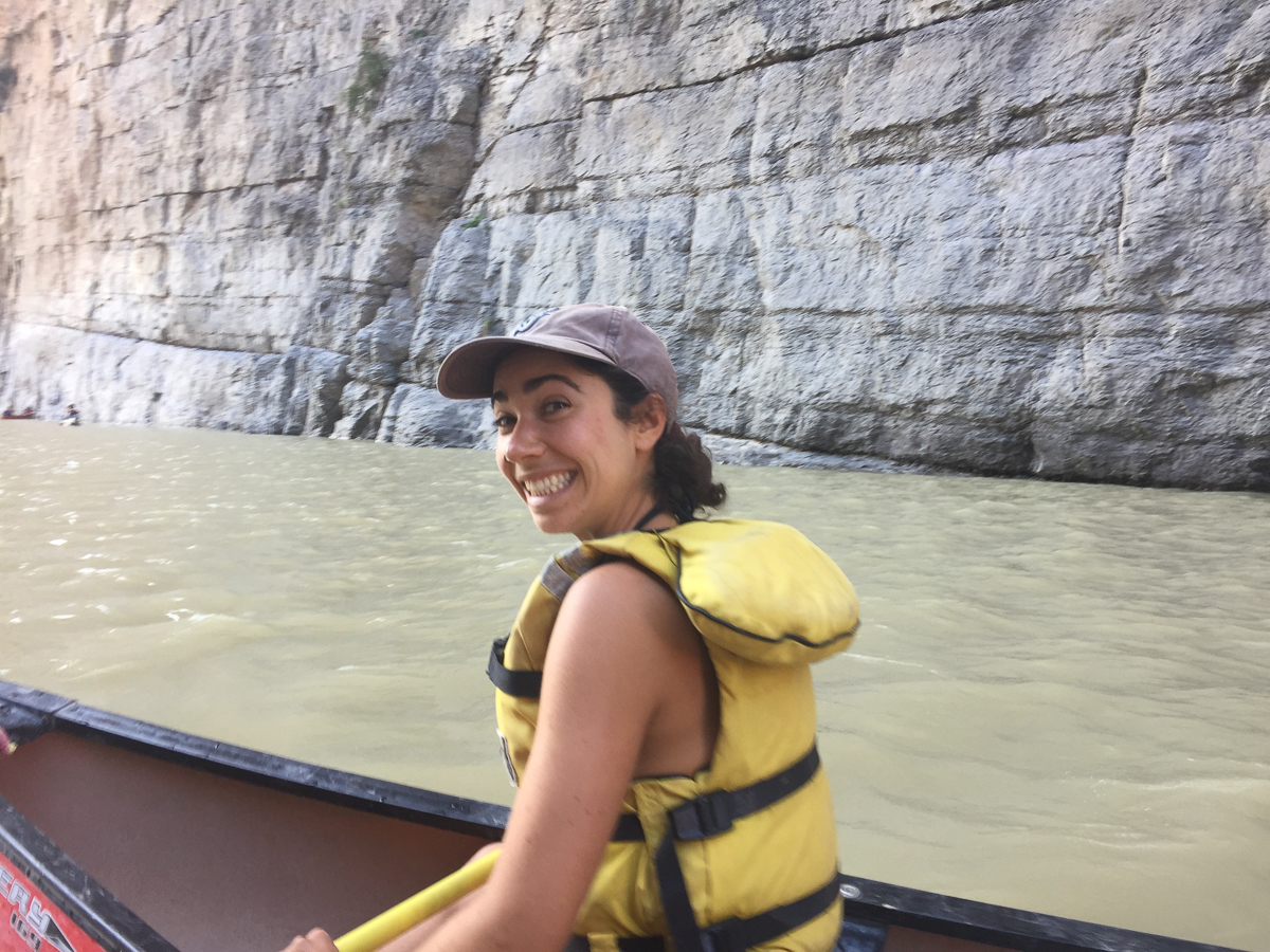 Field Manager Ysa gets her sea legs