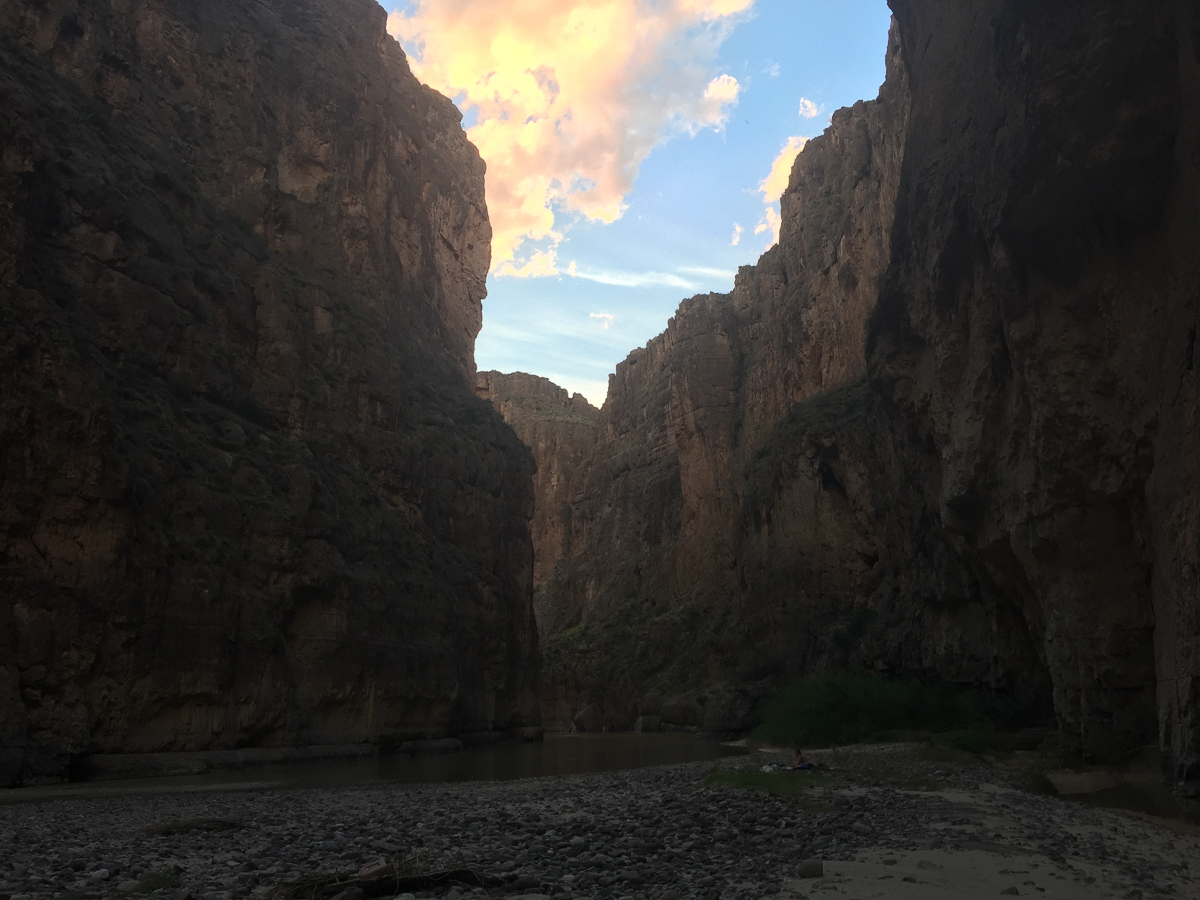 Dawn in the canyon