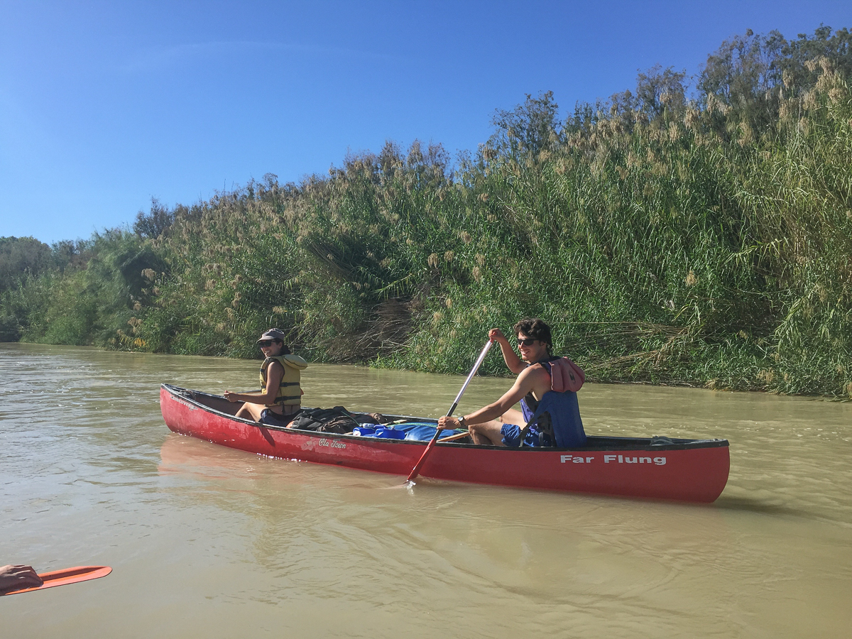 Hunter and Ysa on the Rio
