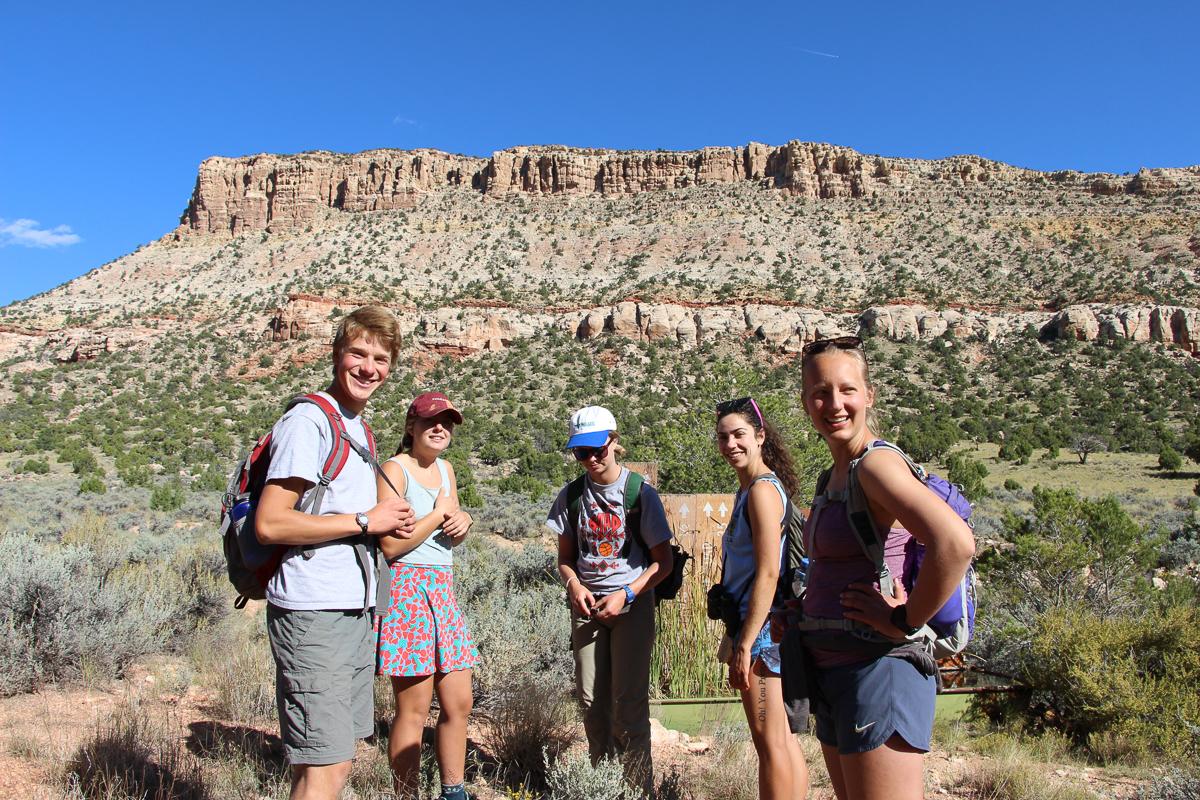 Hiking in Kane Canyon