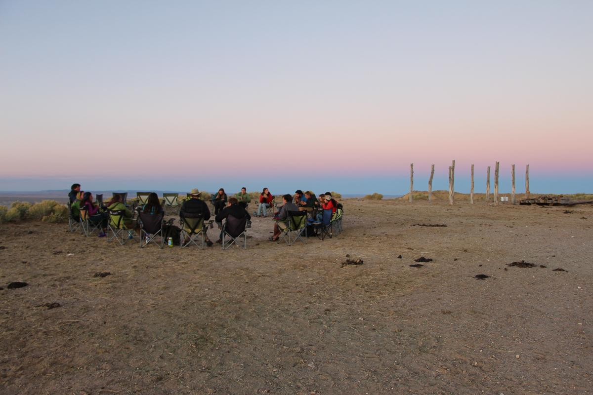 Evening outside Tuba City