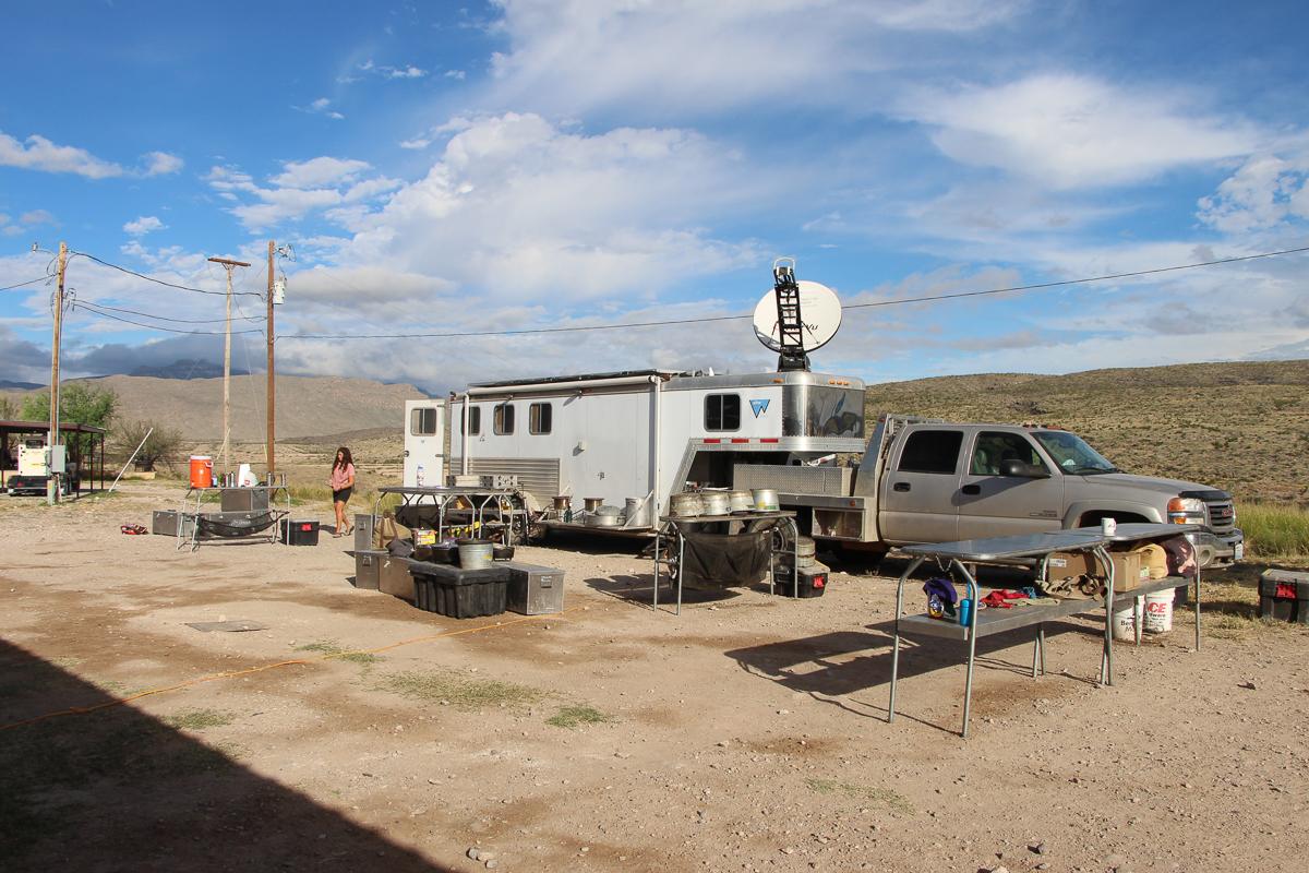 Camp at the El Carmen Ranch