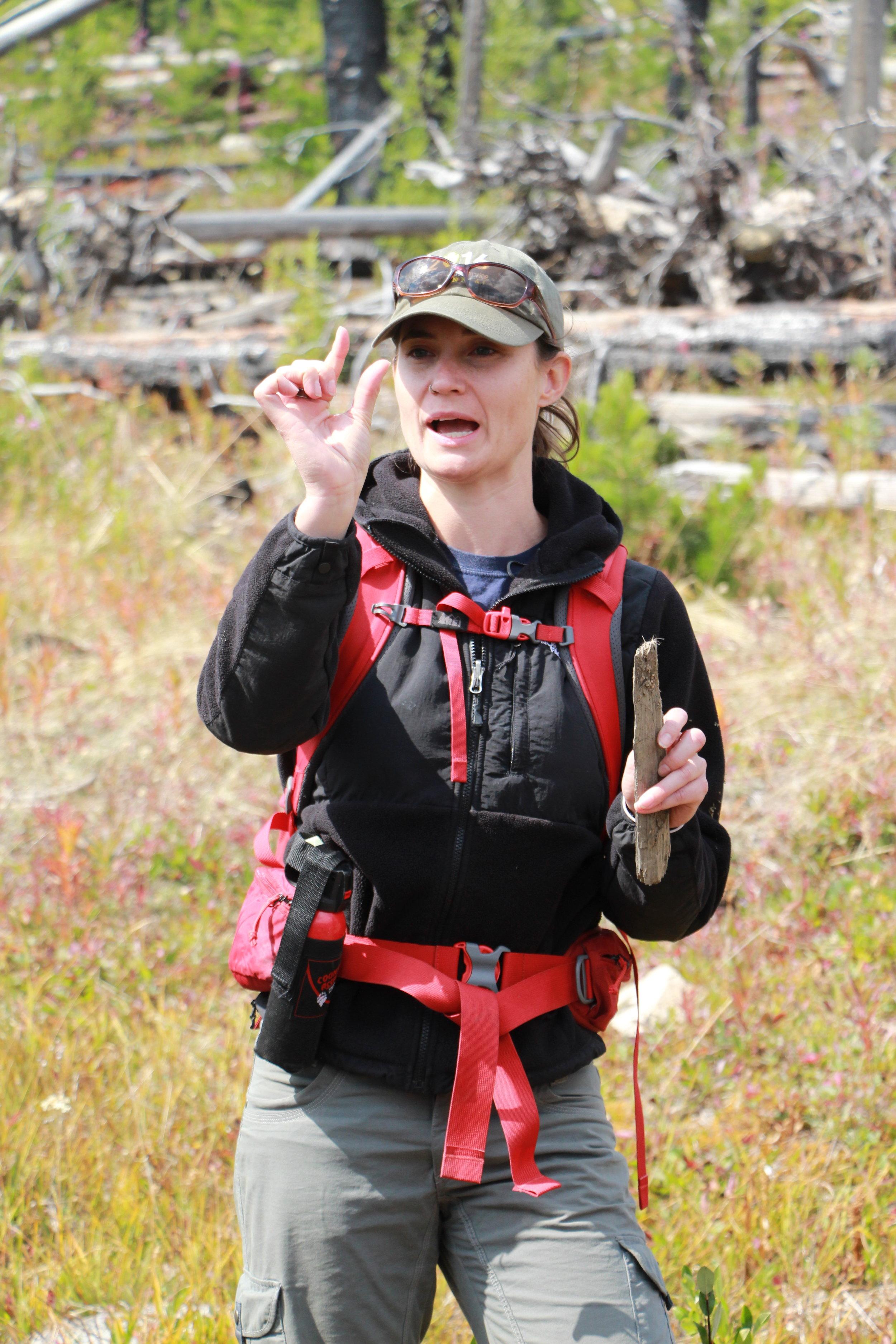 Zoë Hanley,    BIO    Wolf Expert  Winthrop, WA