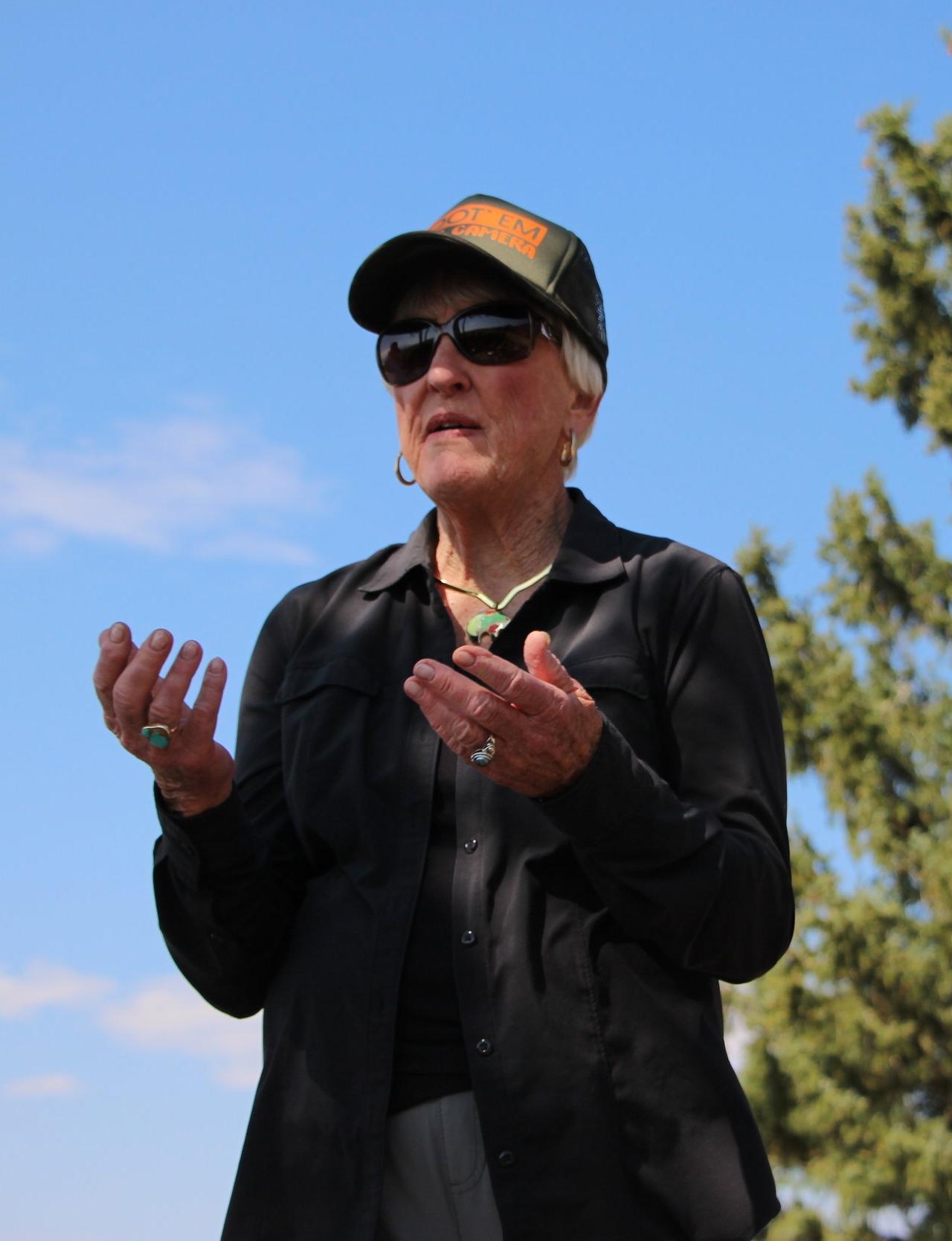 Ann Smith,    BIO    Activist, Shoot 'Em with a Camera  Jackson, WY