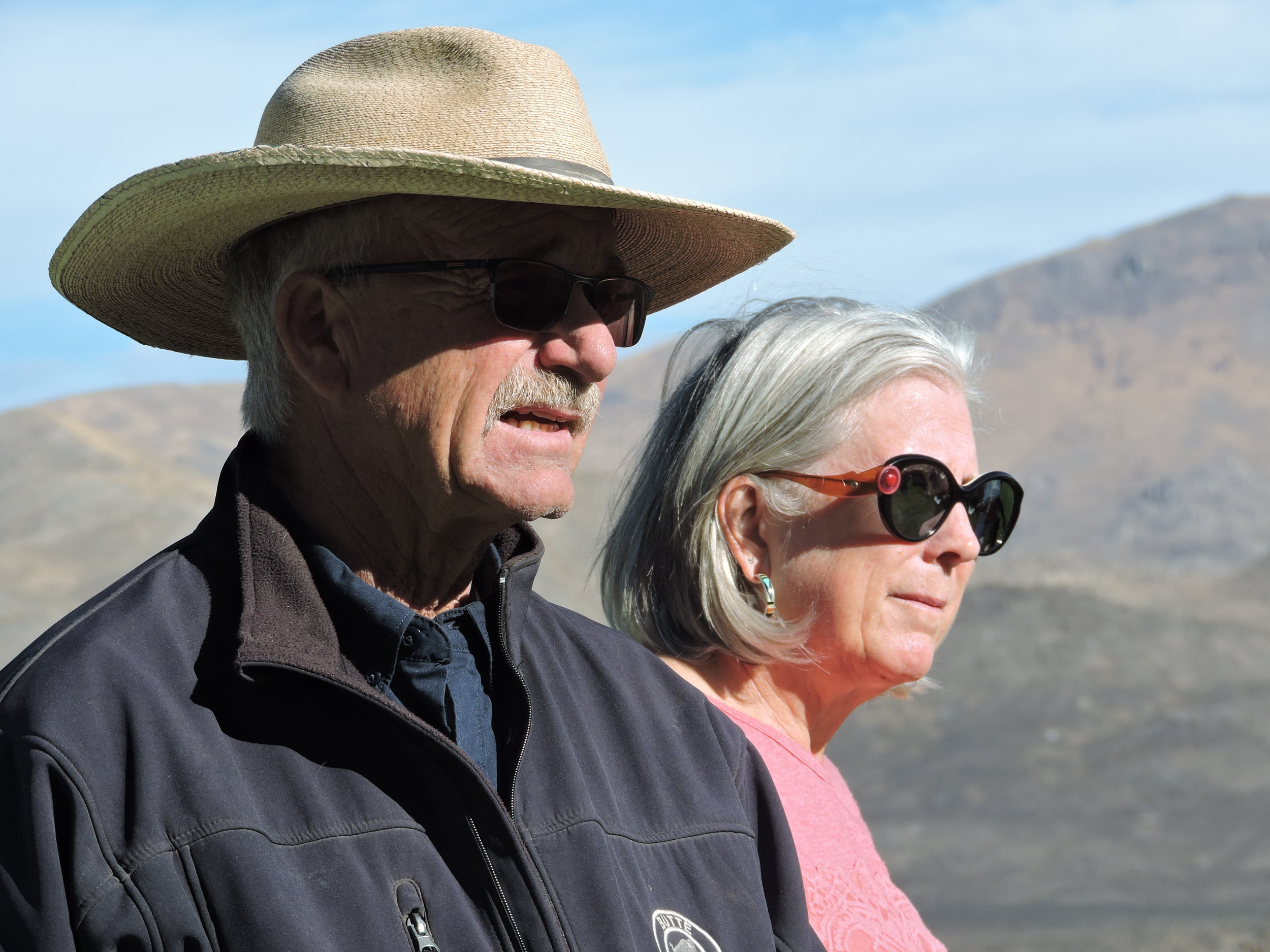 Steve and Robin Boies,    BIO    Ranchers  Wells, NV