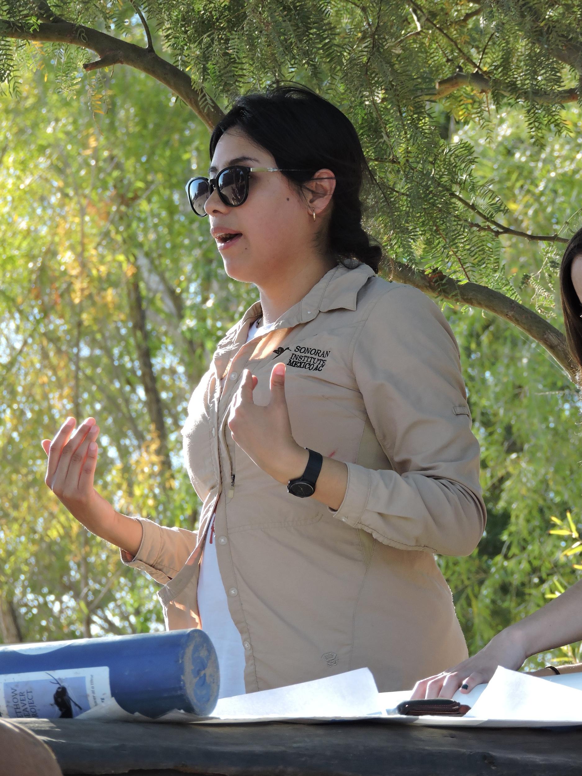 Sandra Ortiz   Restoration Coordinator, Sonoran Institute  Mexicali, Baja California