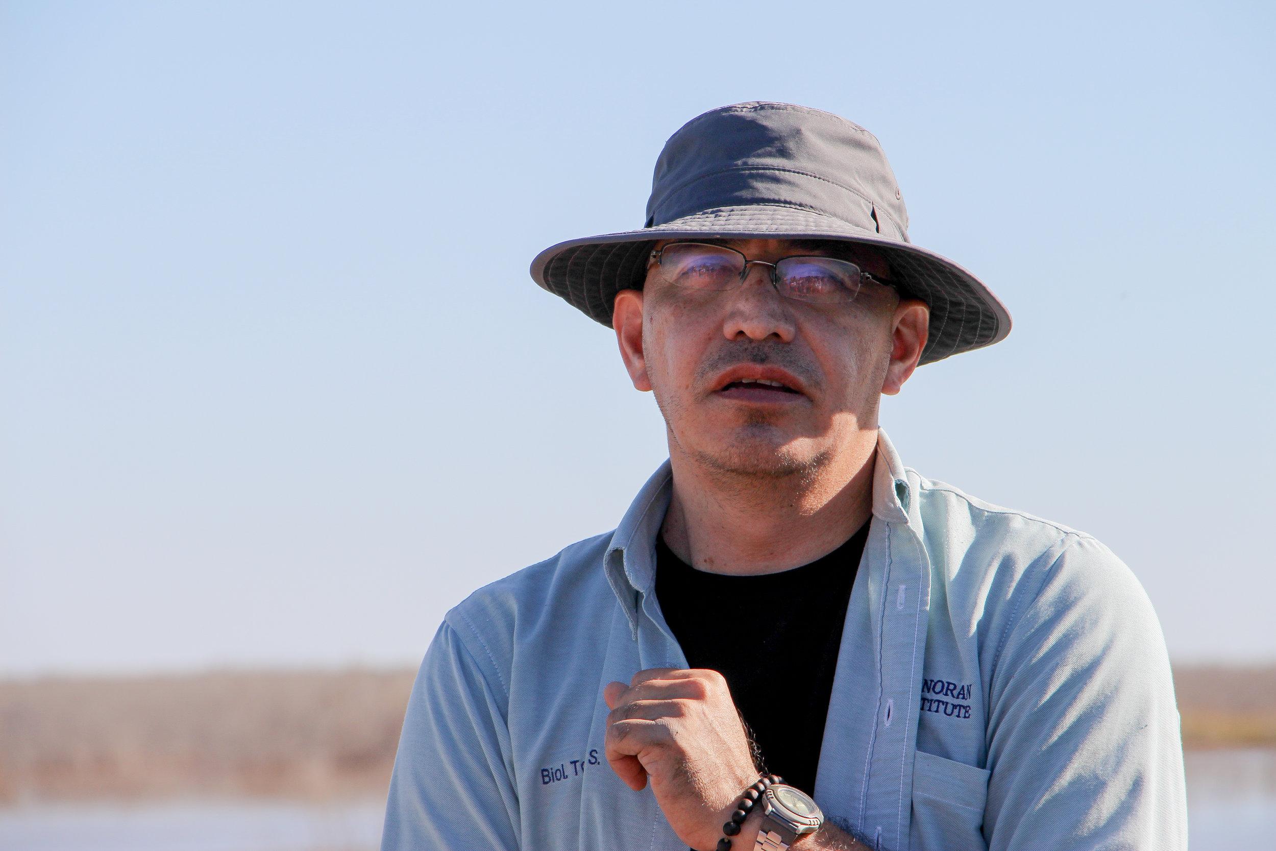 Tomas Rivas   Estuary Restoration Coordinator, Sonoran Institute  Mexicali, Baja California
