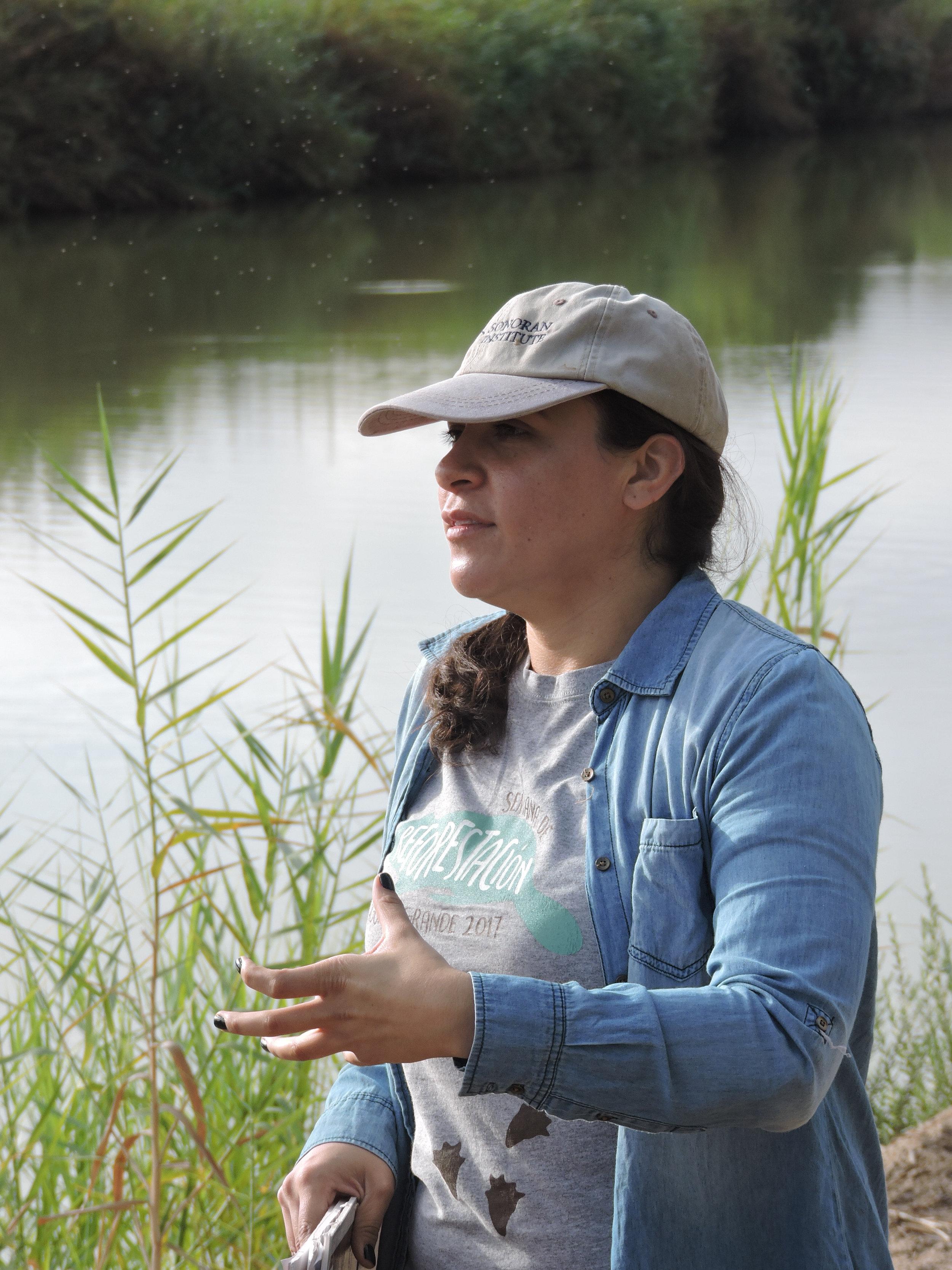 Cristina Perea,    BIO    Public Policy Coordinator, Sonoran Institute  Mexicali, Baja California