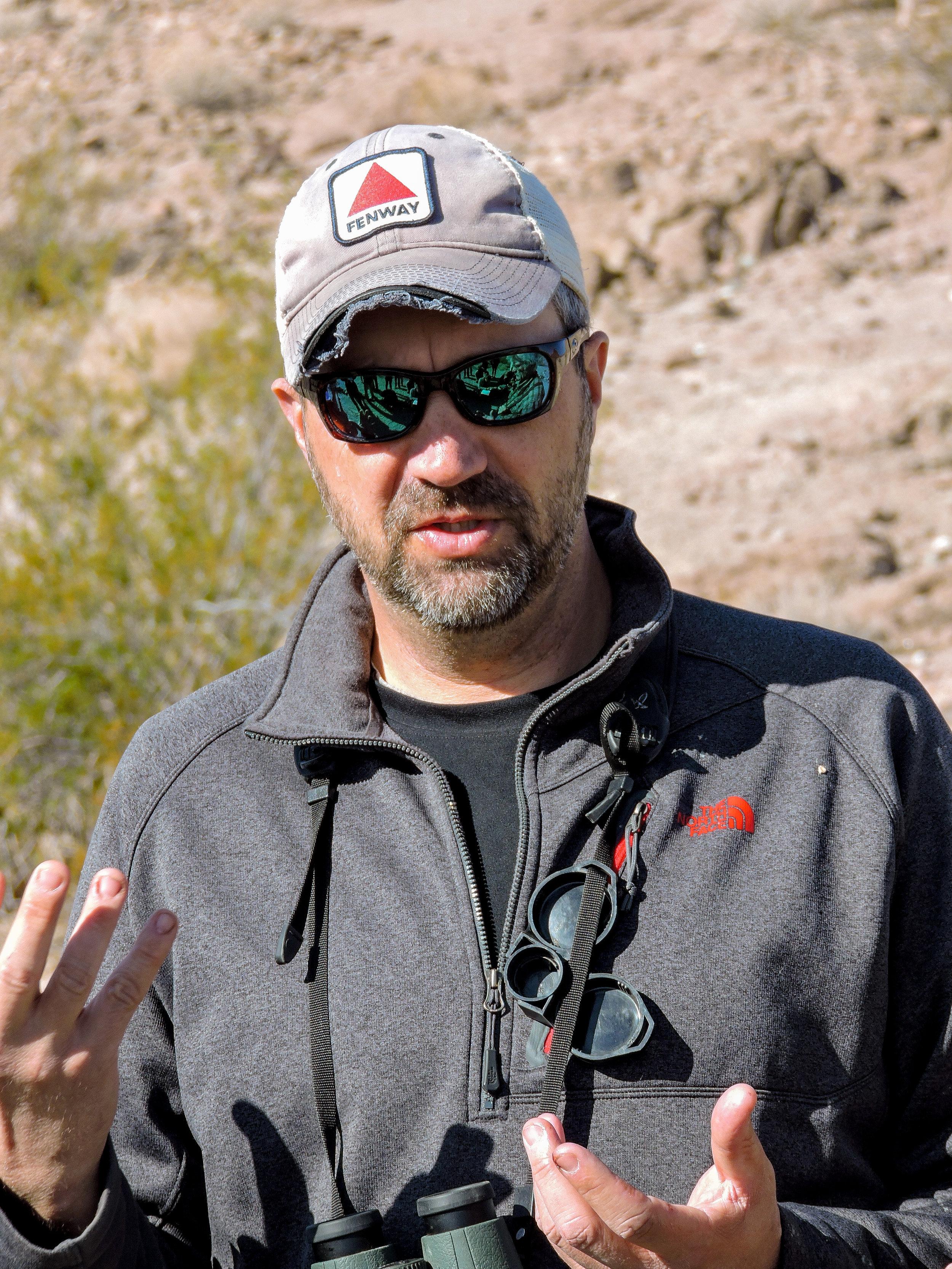 Peter Sanzenbacher,    BIO    Biologist, US Fish and Wildlife Service  Palm Springs, CA