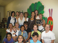 Refurbishing McKinley Ave. School library with Access Books