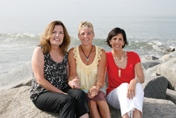 Debbie Schermer, Jill Weintraub & Moira Tenzer