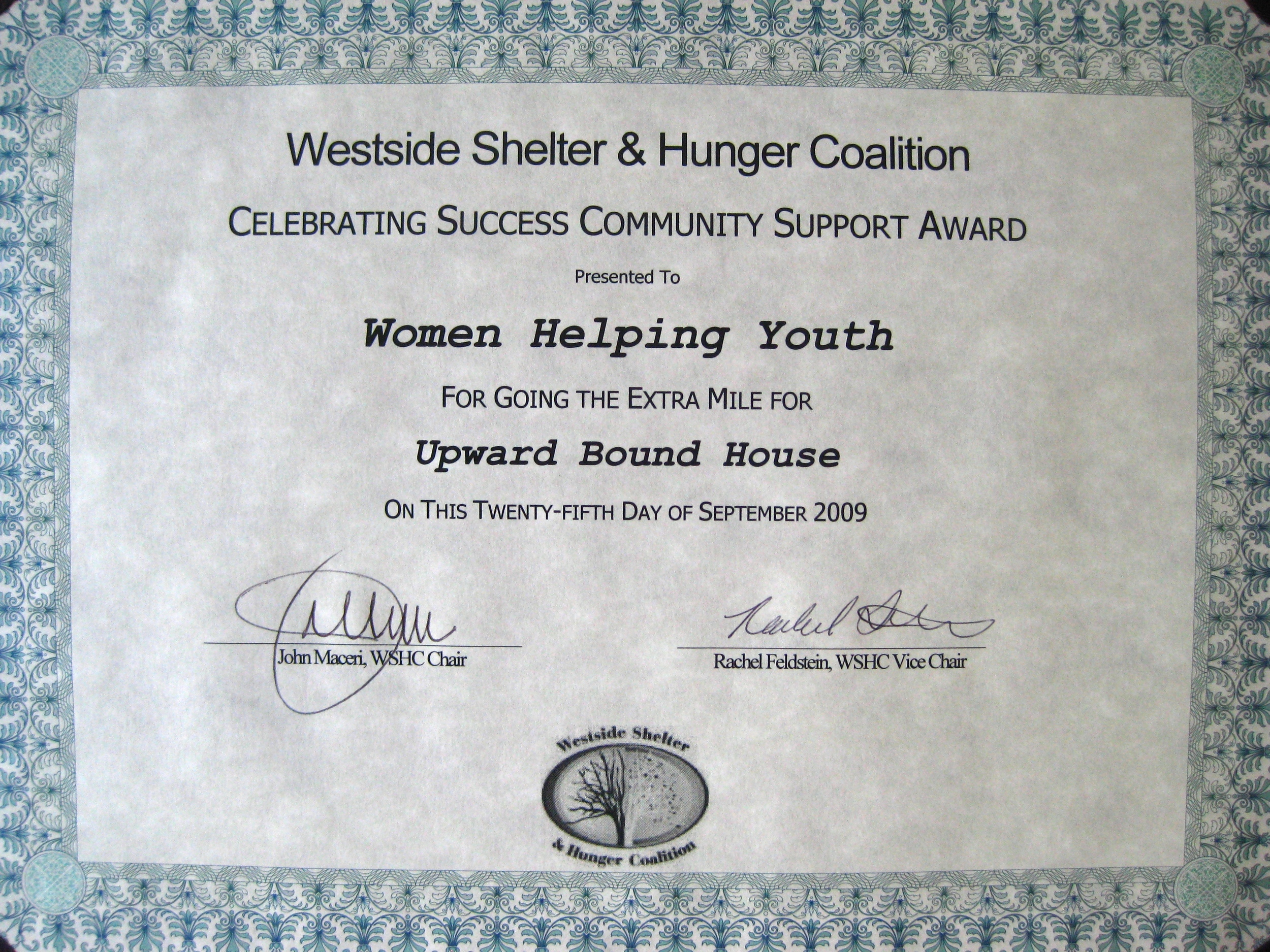 2009 Community Support Award modified.jpg