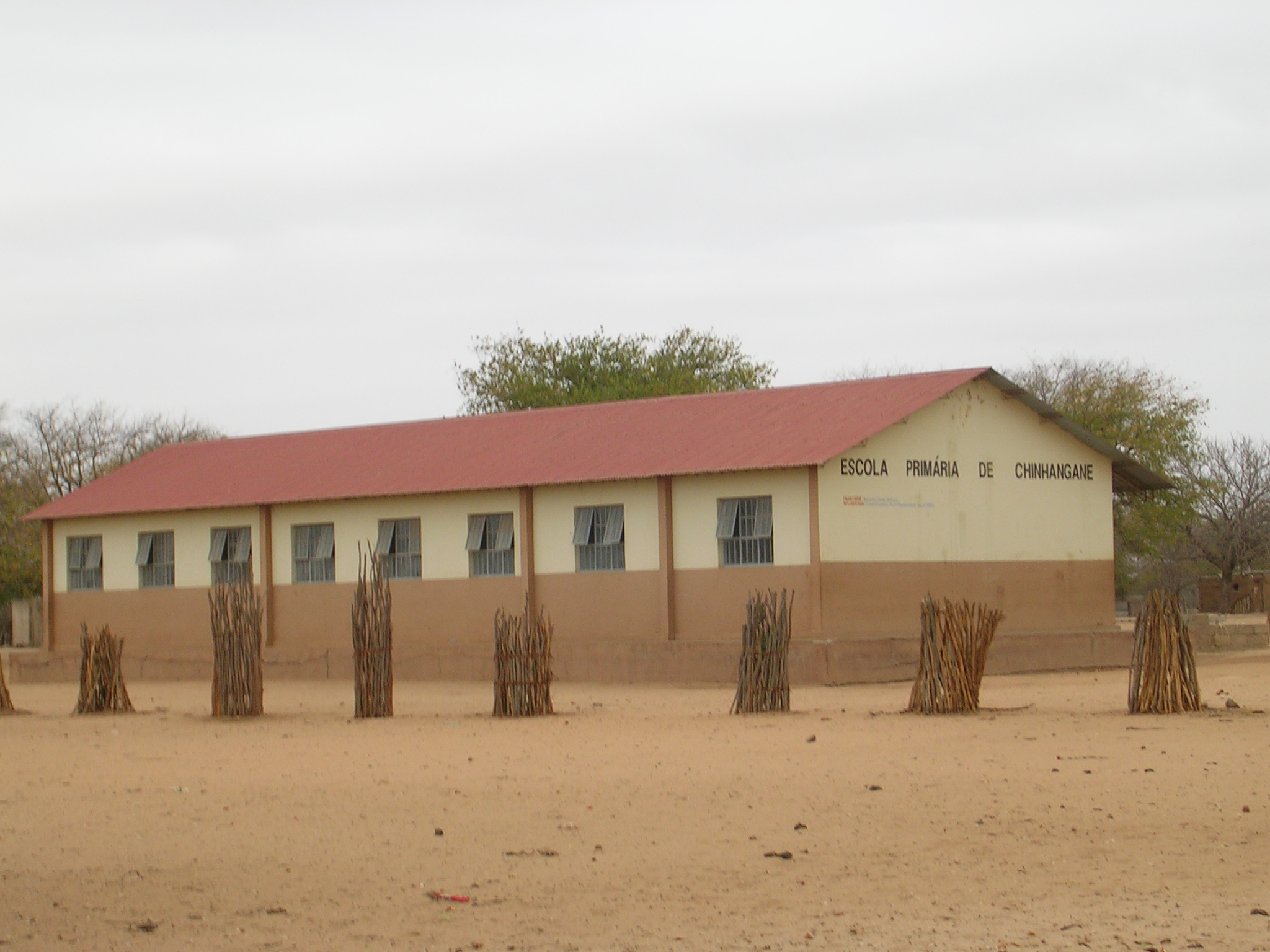 Primary school in the host village (after resettlement)