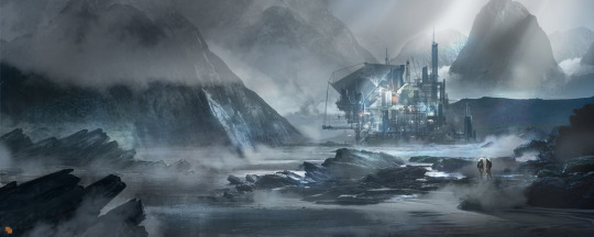 Station  by  Florent Llamas  on DeviantArt Hat tip to  cyberm1nd  who posted it to tumblr and  tanif  who's tumblr I saw it on