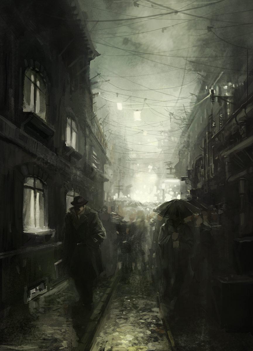Strasse by kinnas  on Deviant Art