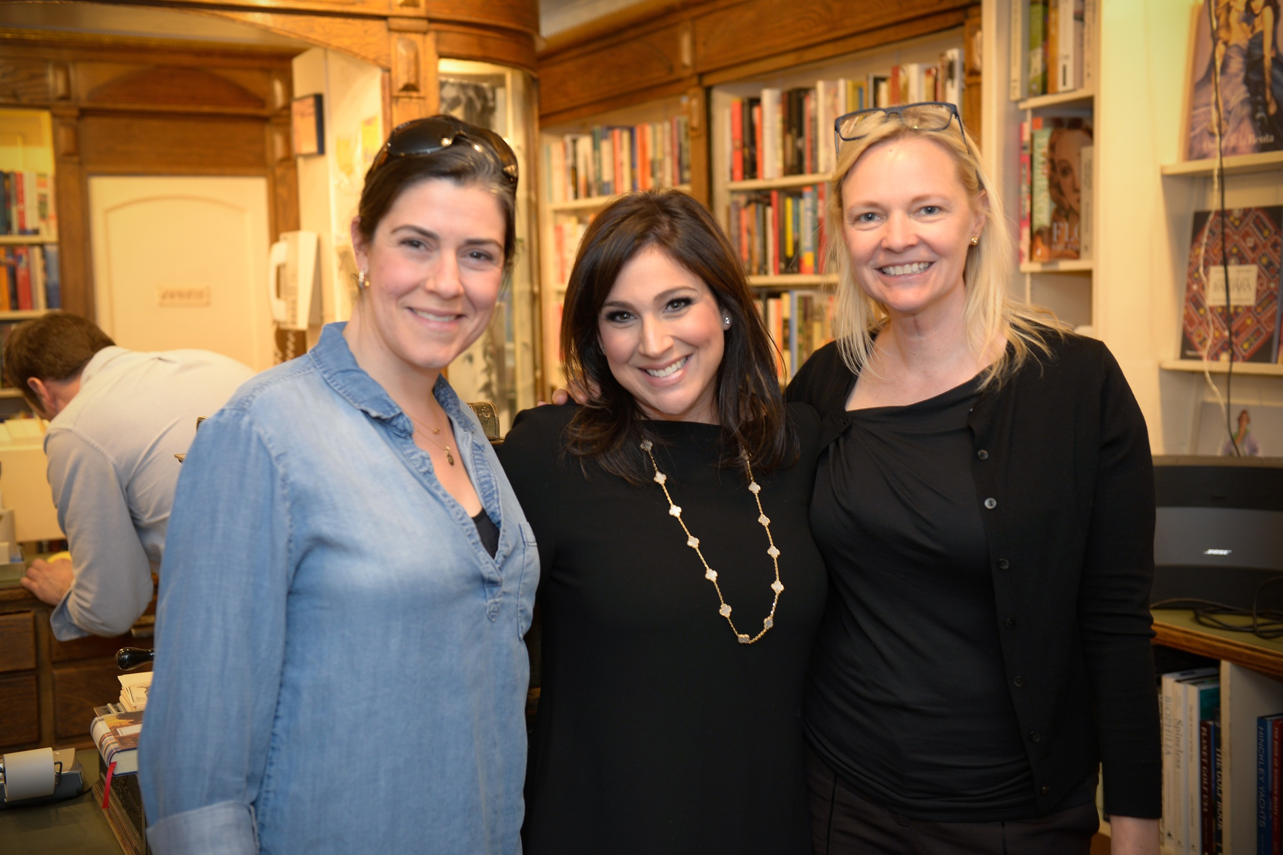 With editor Kendra Harpster and author Amy Scheibe