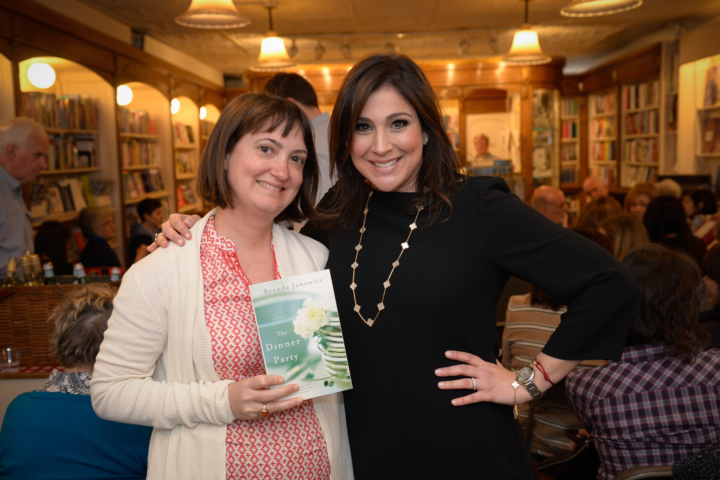 With author Miranda Beverly-Whittemore