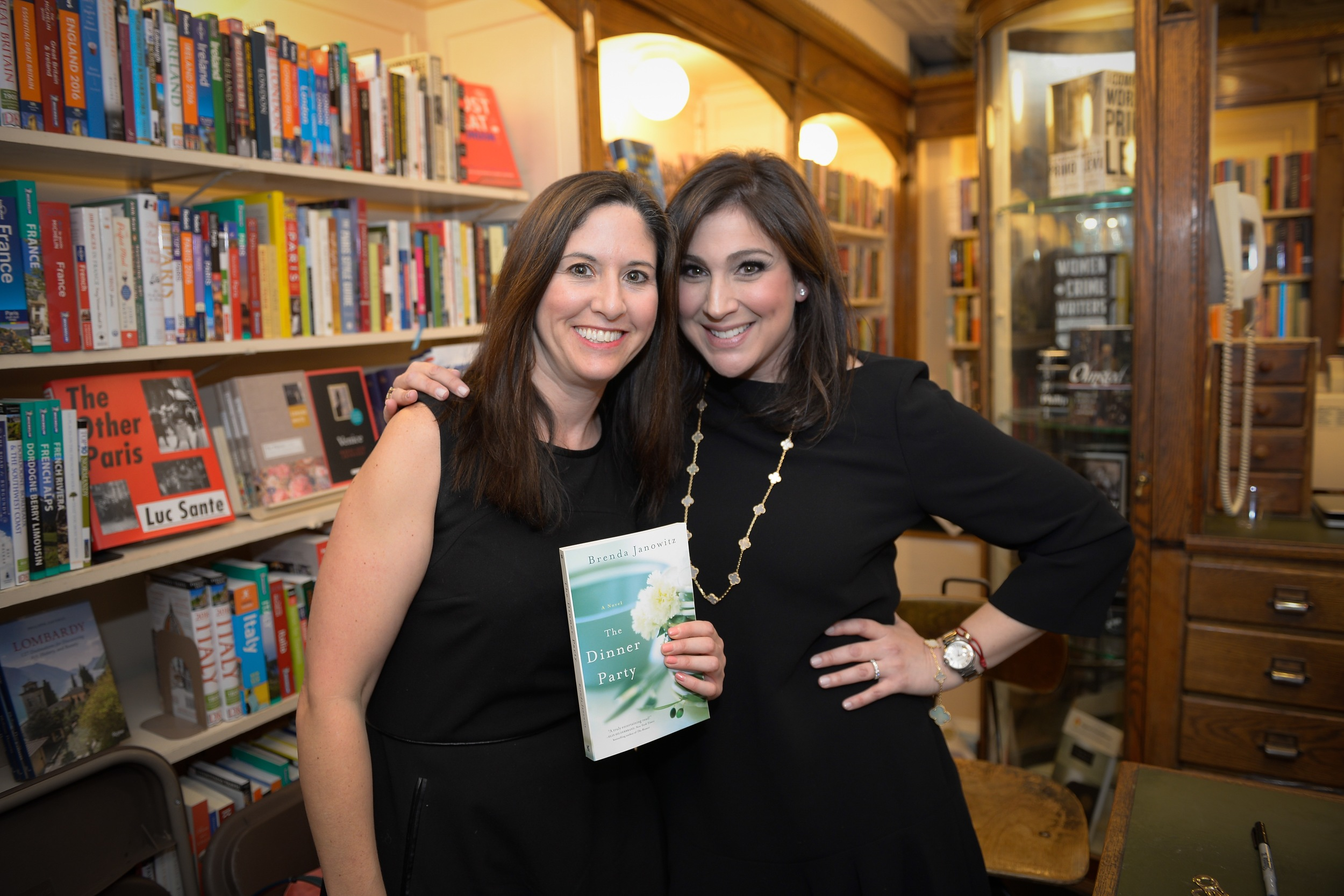 With author Meredith Schorr