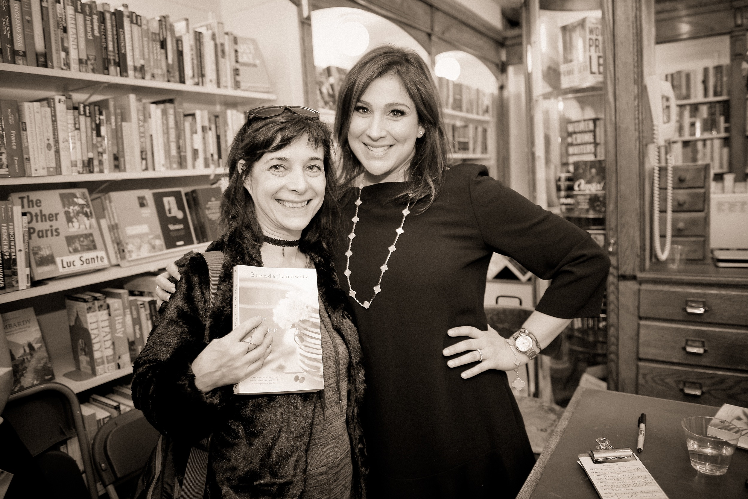 With writer Tracy Marx