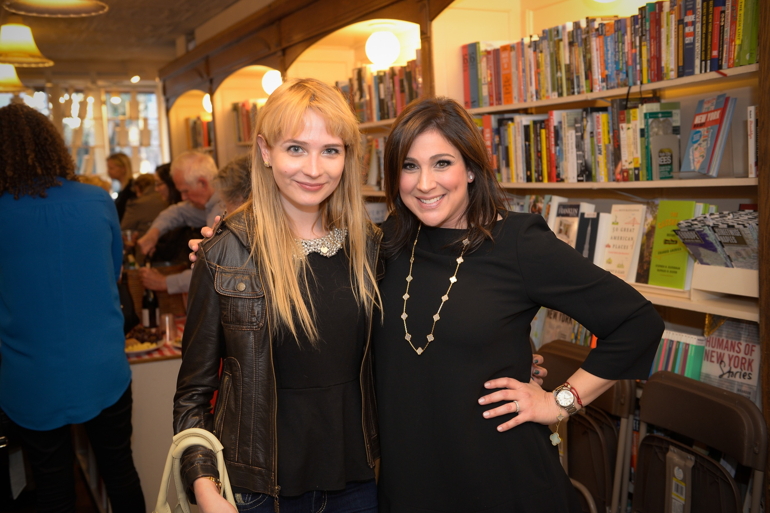 With author Christine Reilly