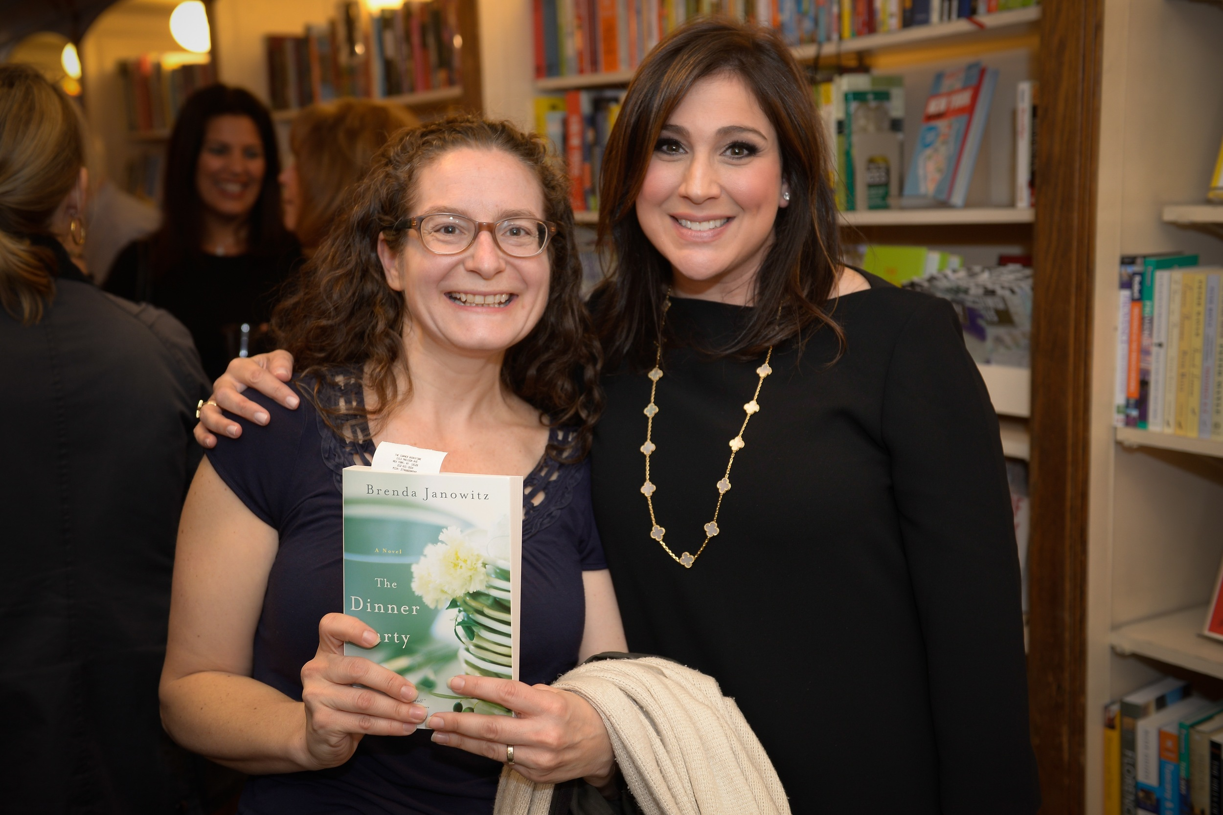 With author Lynn Messina