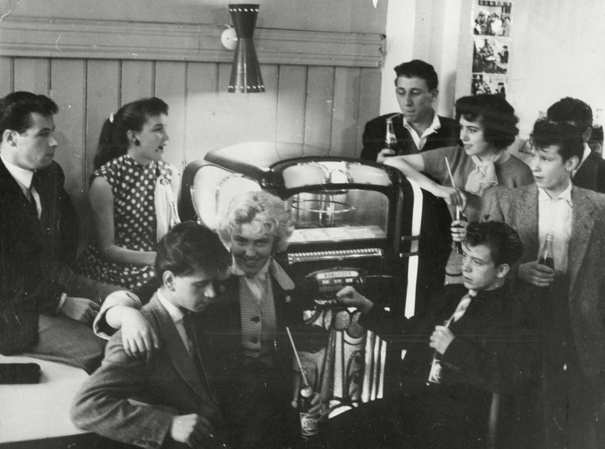 Teddy Boys, Inglaterra (50s)