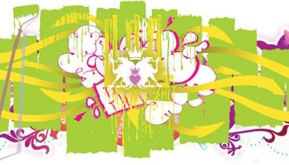 Graffiti arte con lenguaje de calle