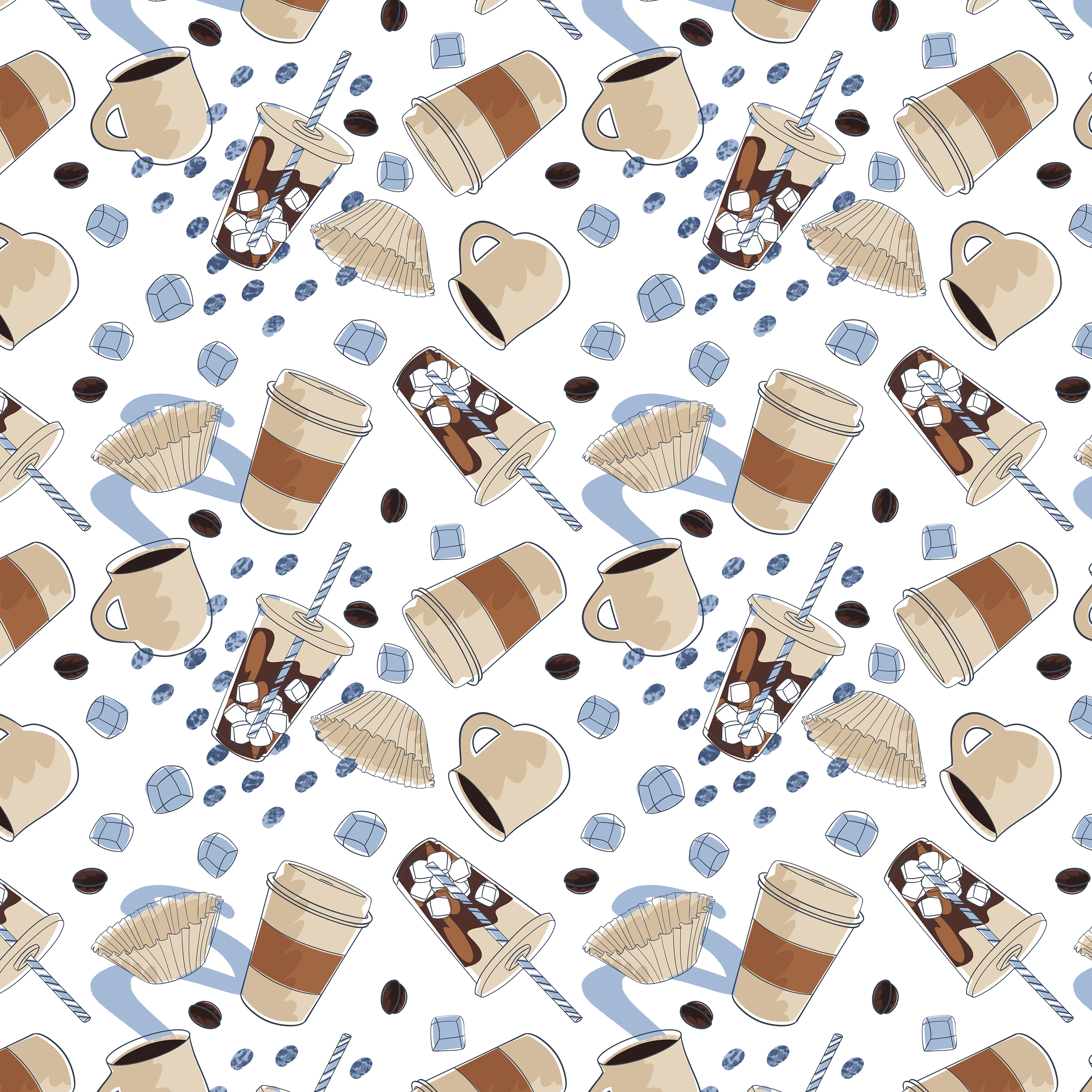 Pattern for Artifact Coffee