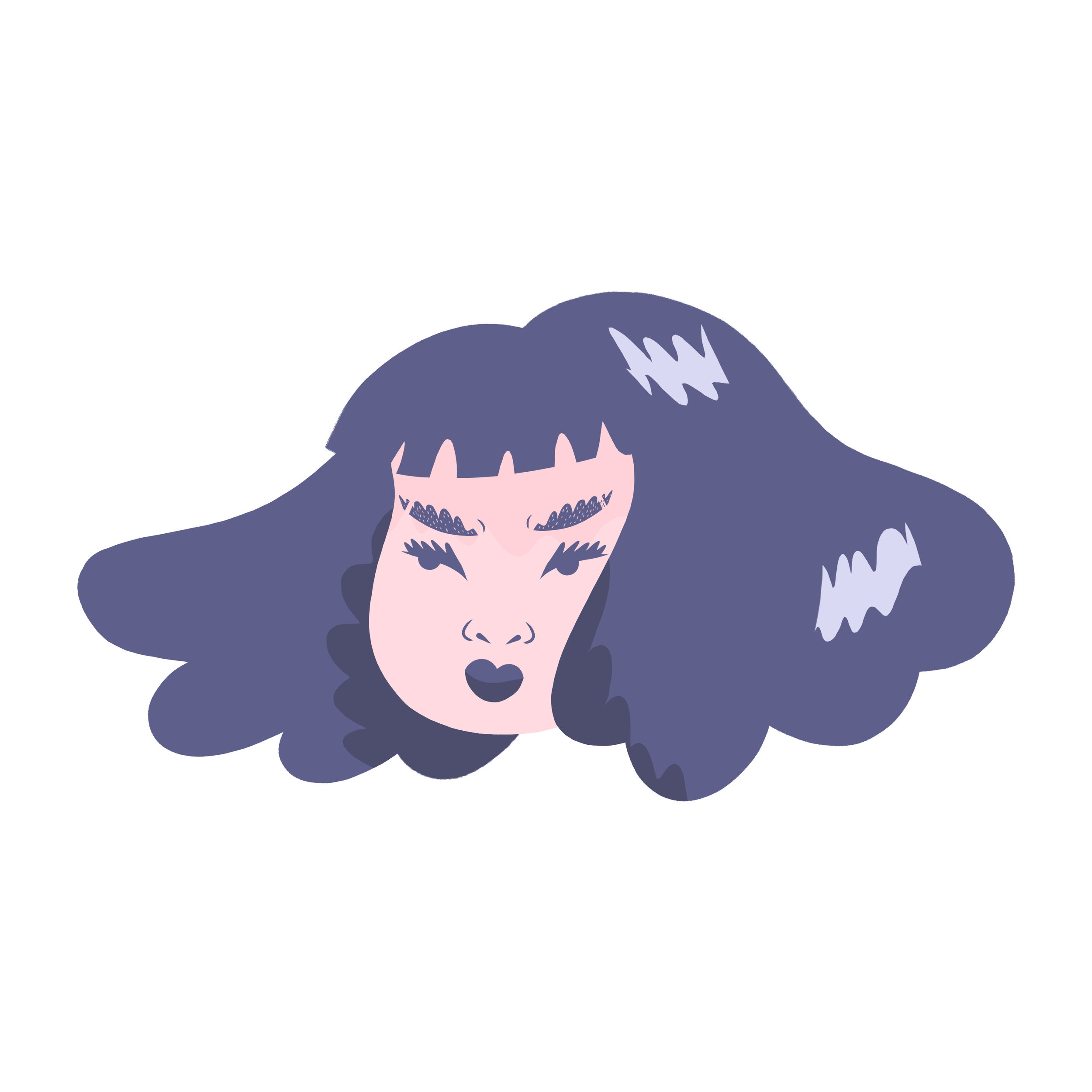 Angry Babes Sticker Design  2019