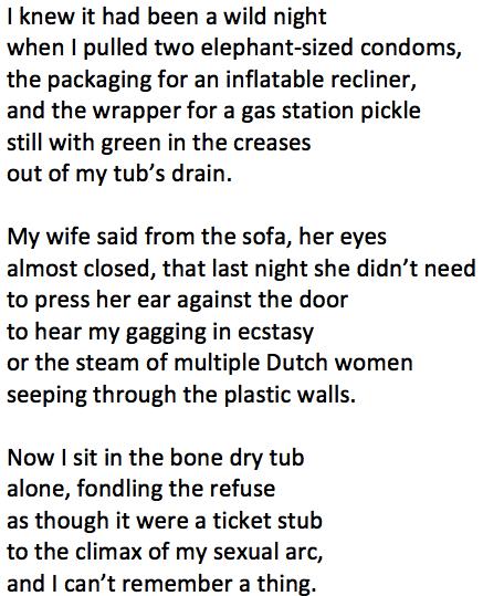 Wild Night Poem Tim Staley