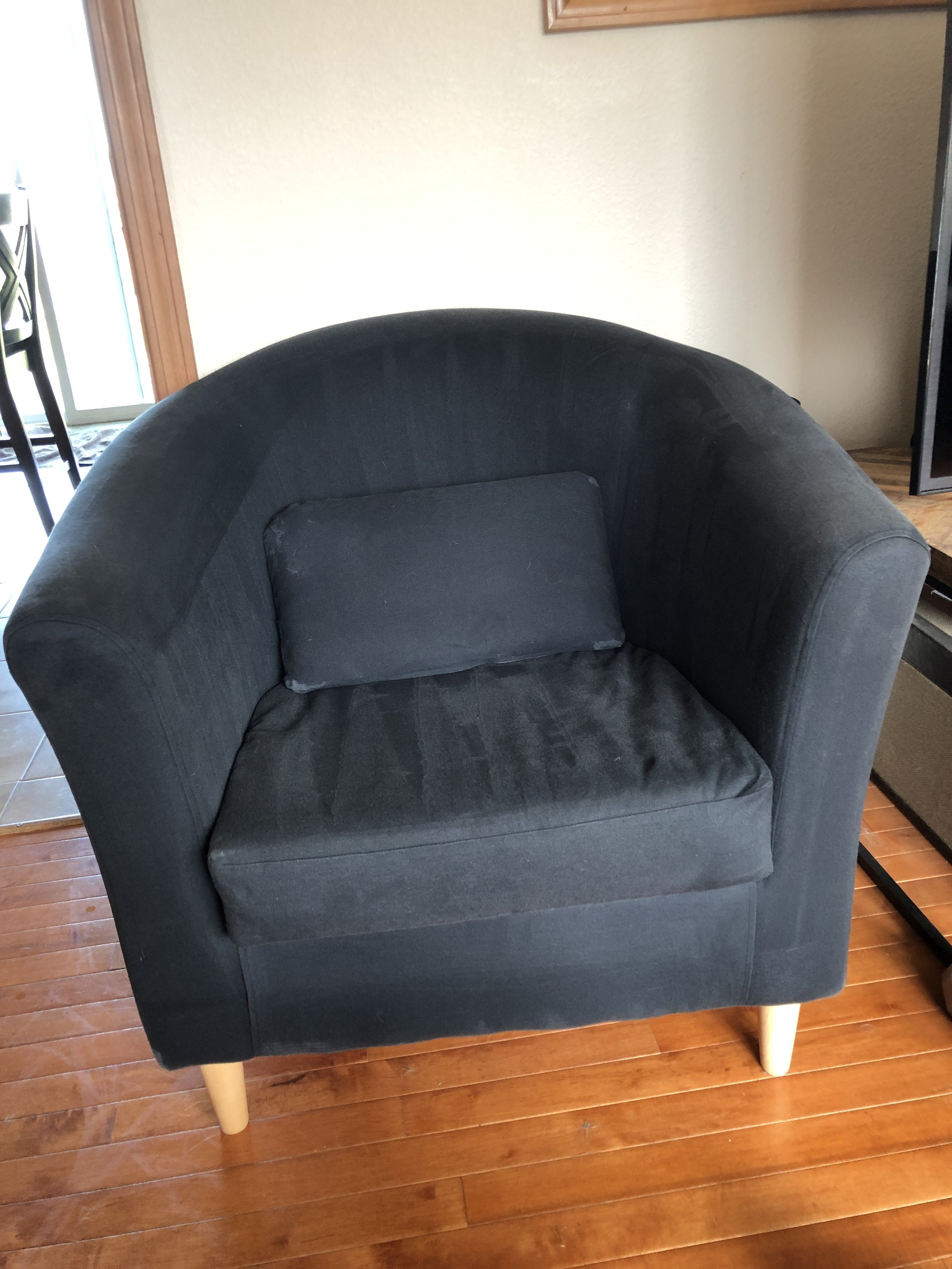 Upholstery cleaning Everett after