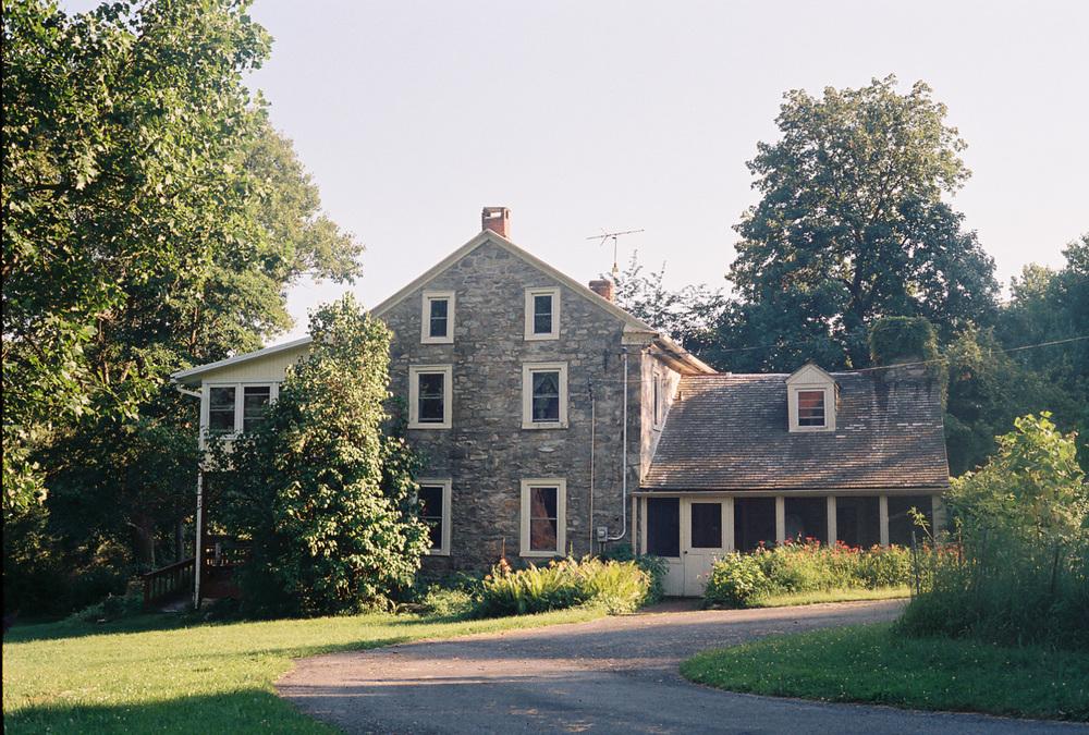 The farmhouse in New Jerusalem, PA