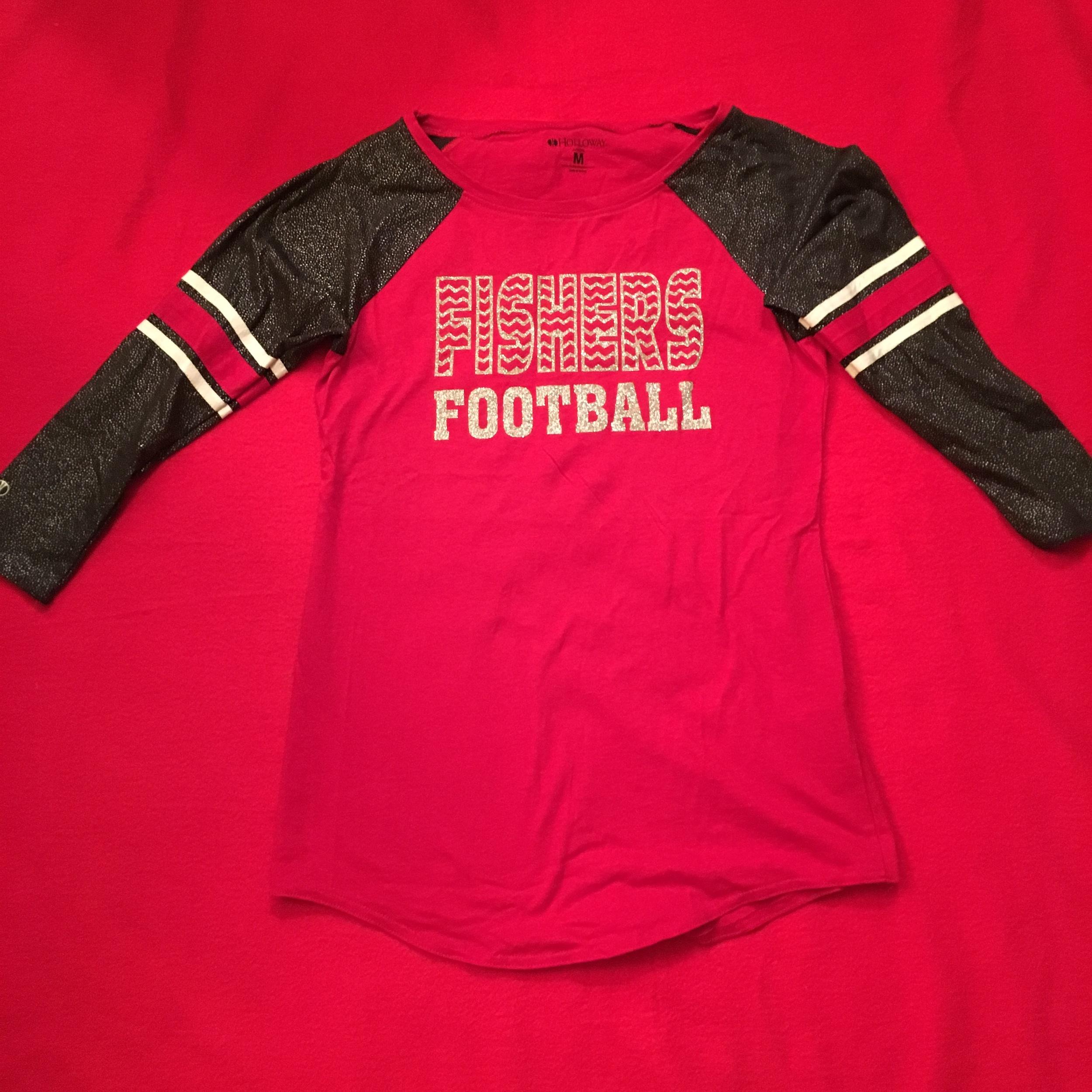 SW Ladies Holloway 3/4 sleeve Tshirt w glitter logo