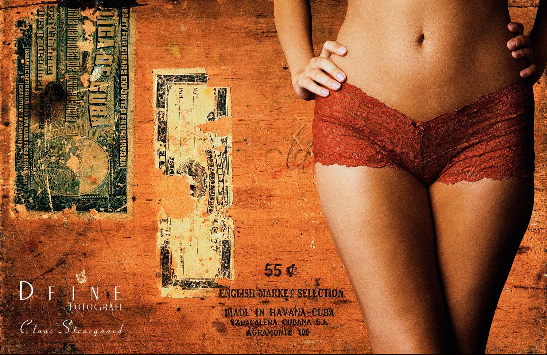 Cuban Cigars 30 x 45 cm - Lambda Metalprint fra X-Print